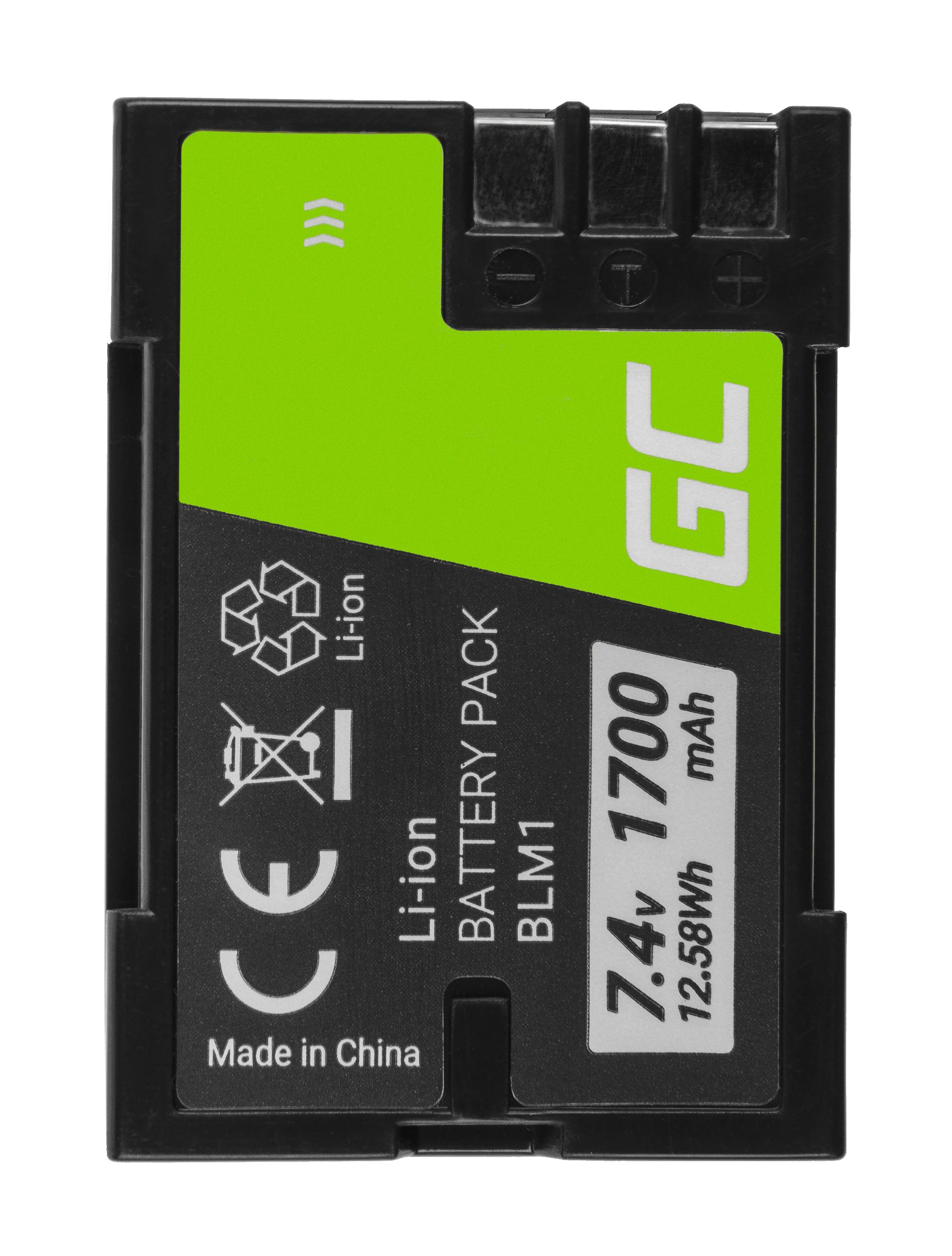 Batteri BLM-1 BLM1 do Olympus CAMEDIA C-7070, E-300,volt E-500 7.4V 1700mAh