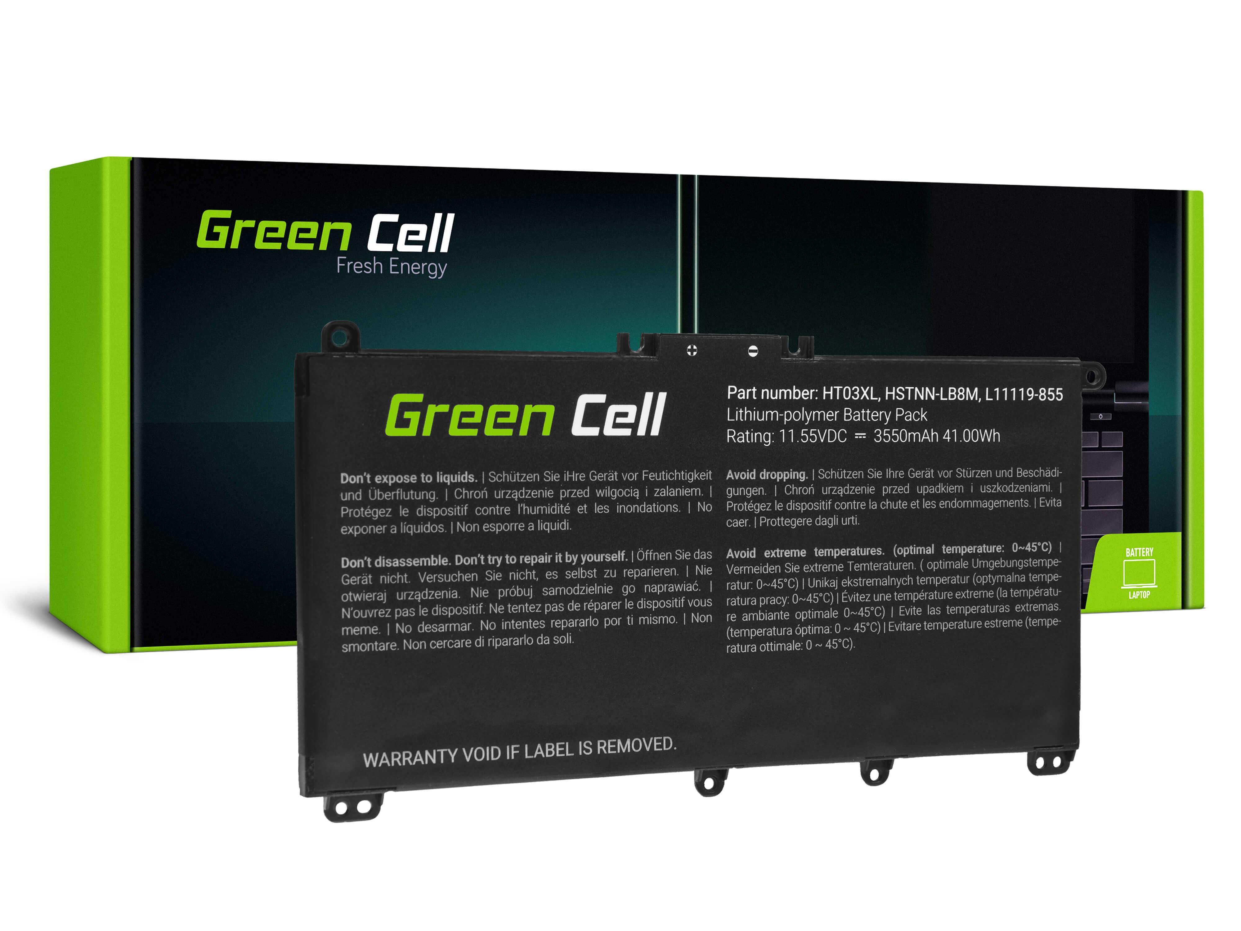 Batteri HT03XL do HP 240 G7 245 G7 250 G7 255 G7, HP 14 15 17, HP Pavilion 14 15