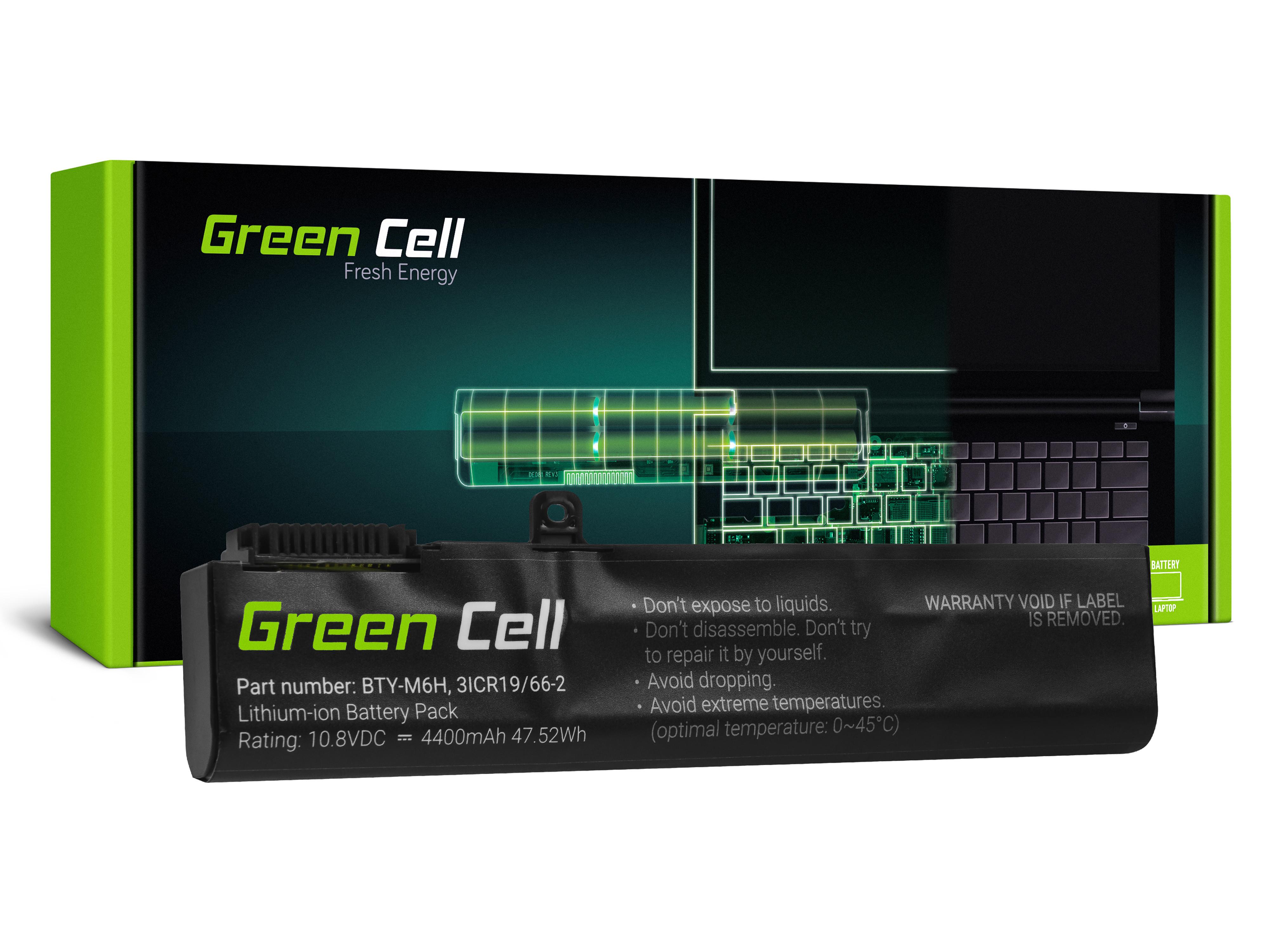 Batteri BTY-M6H gör MSI GE62 GE63 GE72 GE73 GE75 GL62 GL63 GL73 GL65 GL72 GP62 GP63 GP72 GP73 GV62 GV72 PE60 PE70