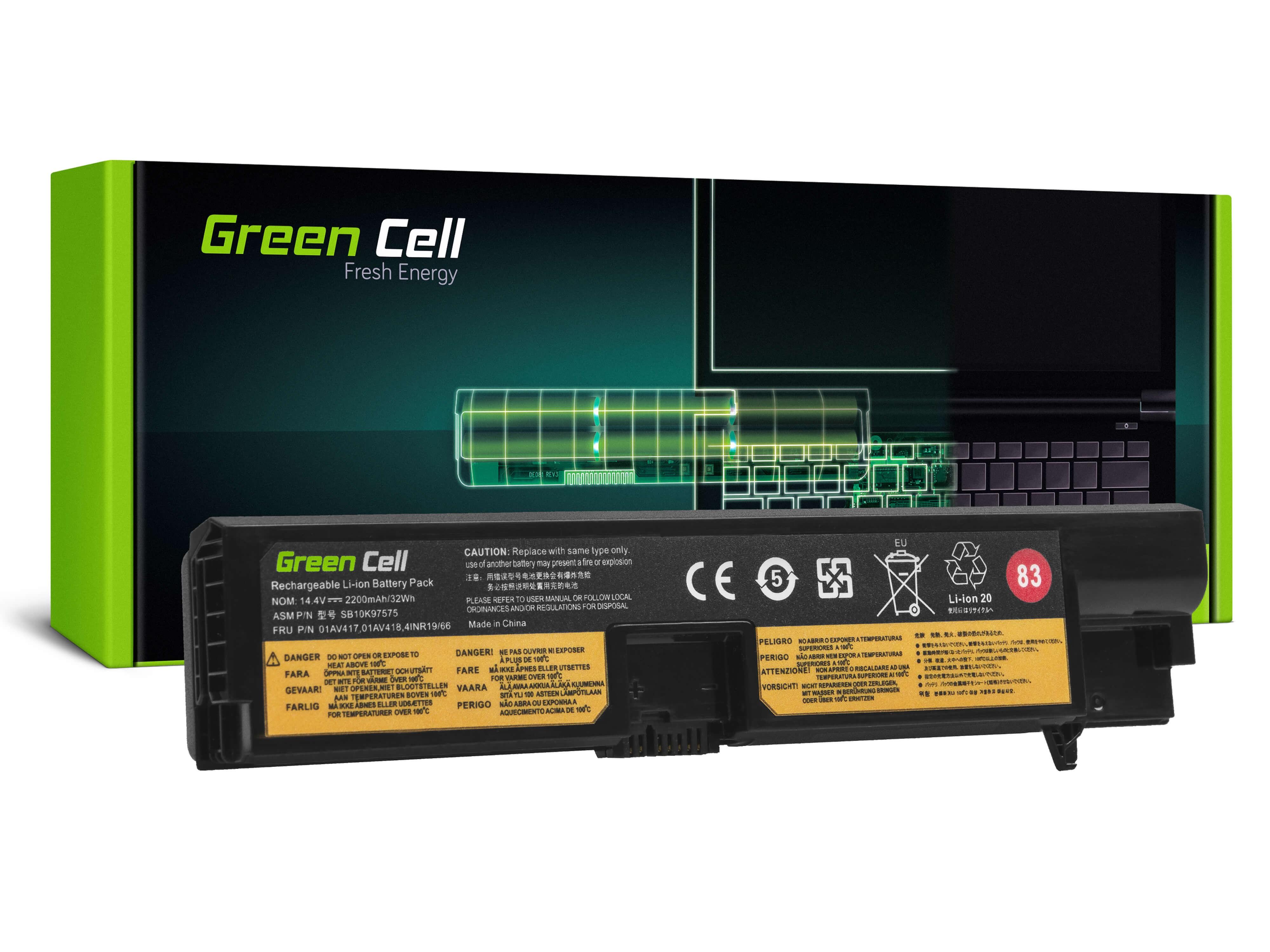 Batteri gör Lenovo ThinkPad E570 E570c E575