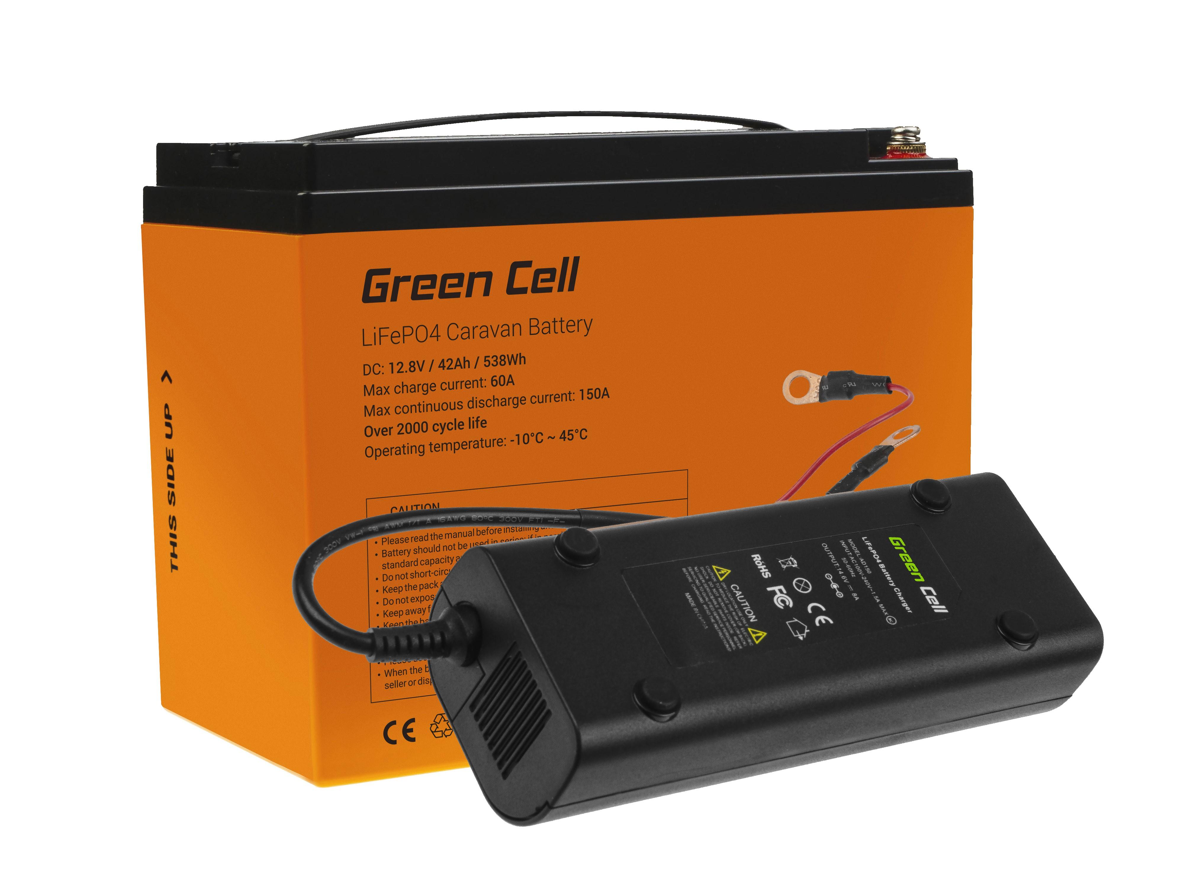 Akumulator litowo-żelazowo-fosforanowy LiFePO4 12.8V 42Ah do paneli solarnych i kamperów