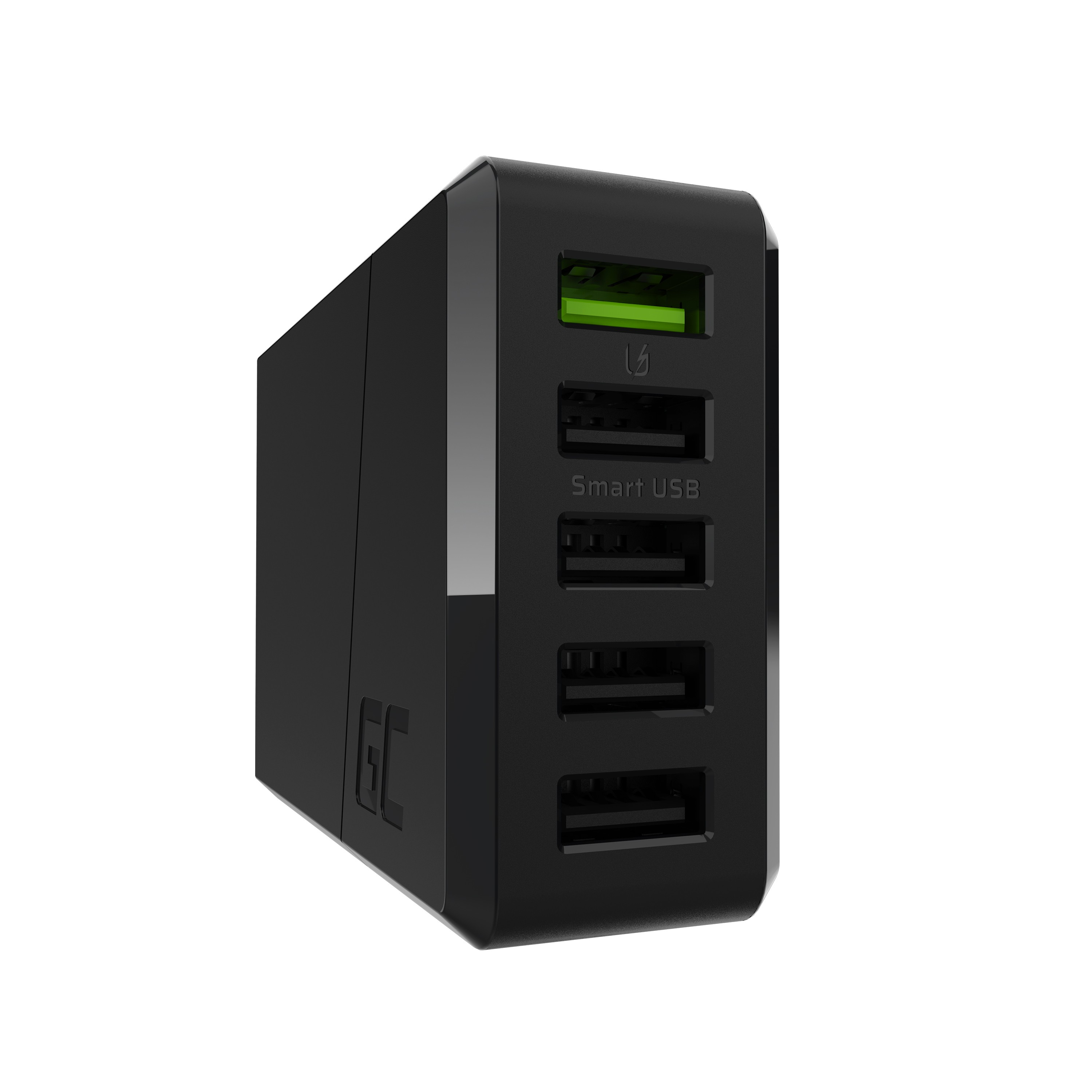 3-portars laddare GC ChargeSource 5 5xUSB 52W med ultraladdning och smart laddning