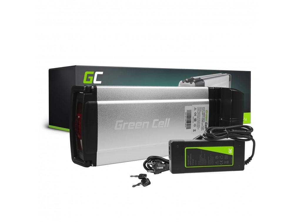 Batteri bakre rack 24V 8.8Ah 211Wh för E-Bike Pedelec