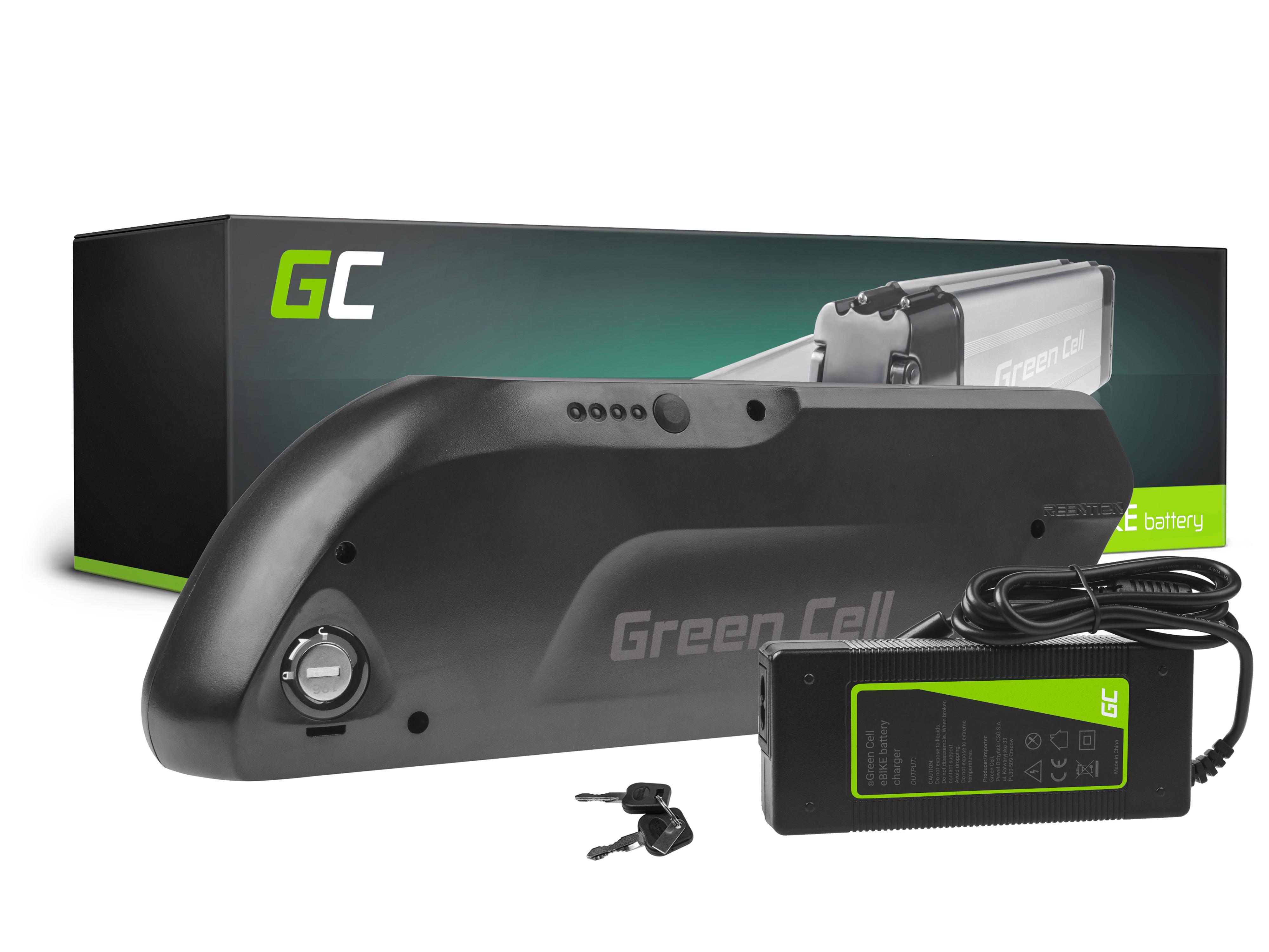 Batteri down tube 48V 11,6Ah 557Wh för E-Bike Pedelec