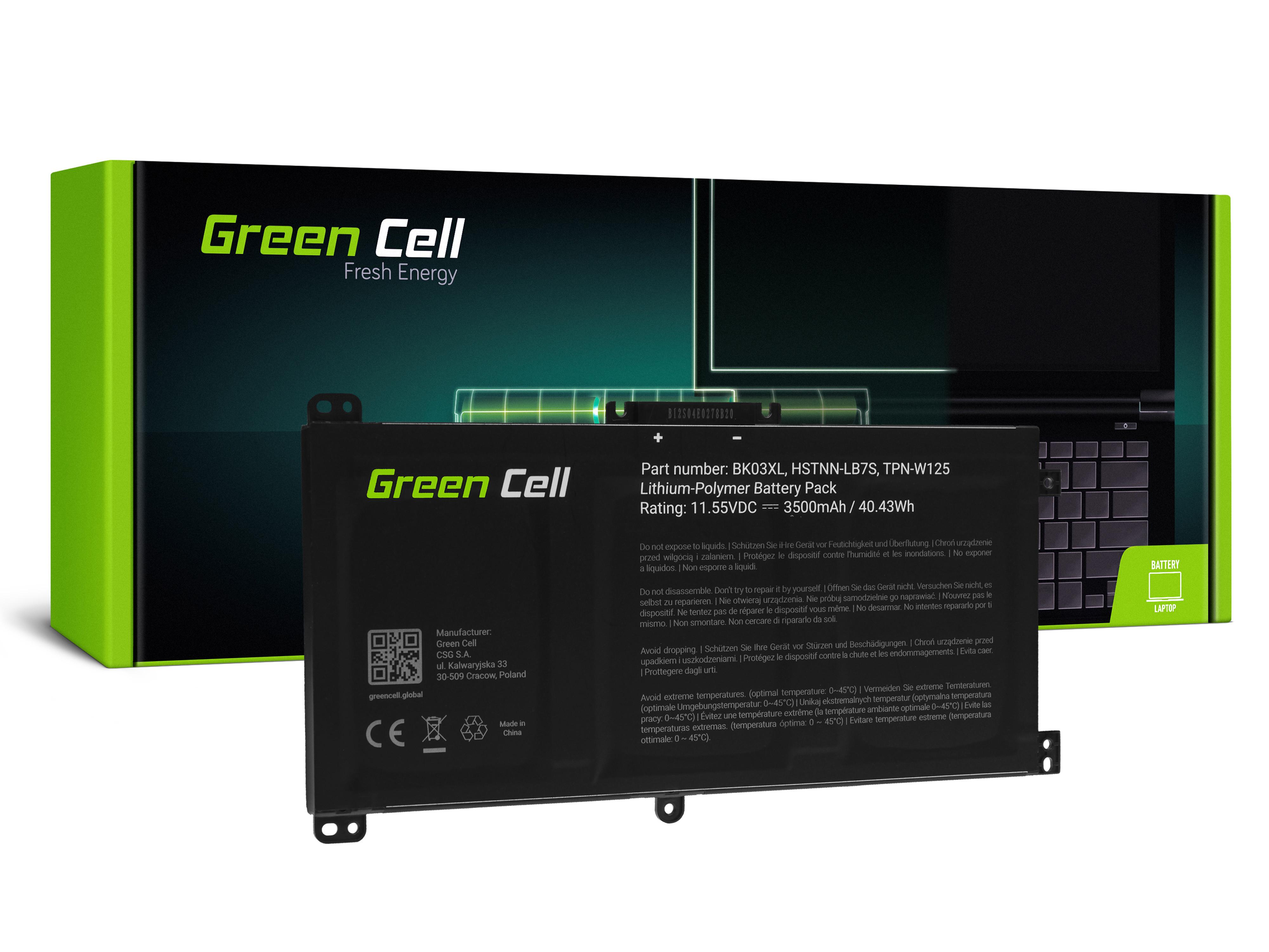 Batteri BK03XL för HP Pavilion x360 14-BA 14-BA015NW 14-BA022NW 14-BA024NW 14-BA102NW 14-BA104NW