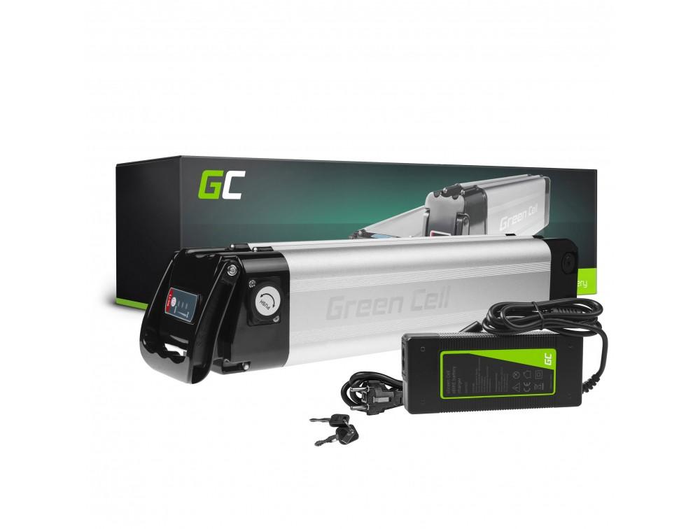 Batteri bakre rack 36V 12Ah 432Wh för E-Bike Pedelec