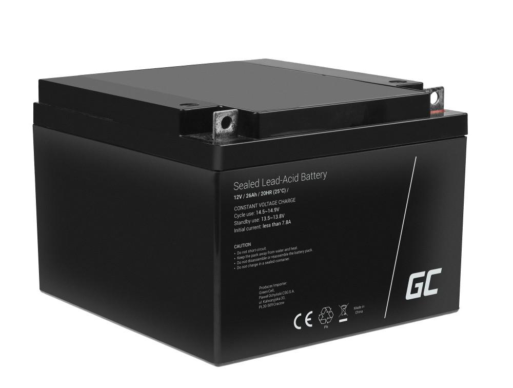 Batteri AGM VRLA 12V 26Ah
