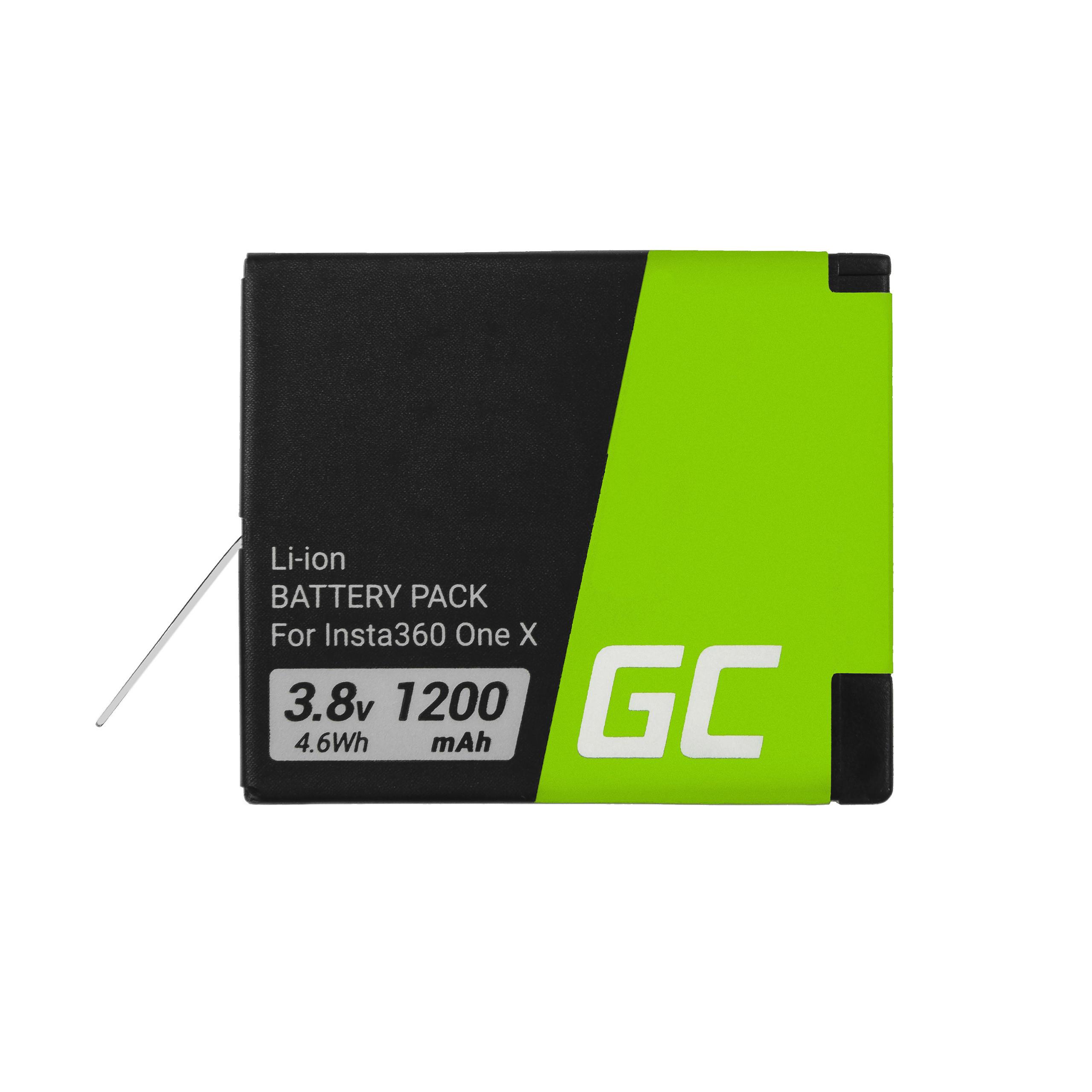 Batteri för Instax INSTA360 ONE X 3.8V 1200mAh