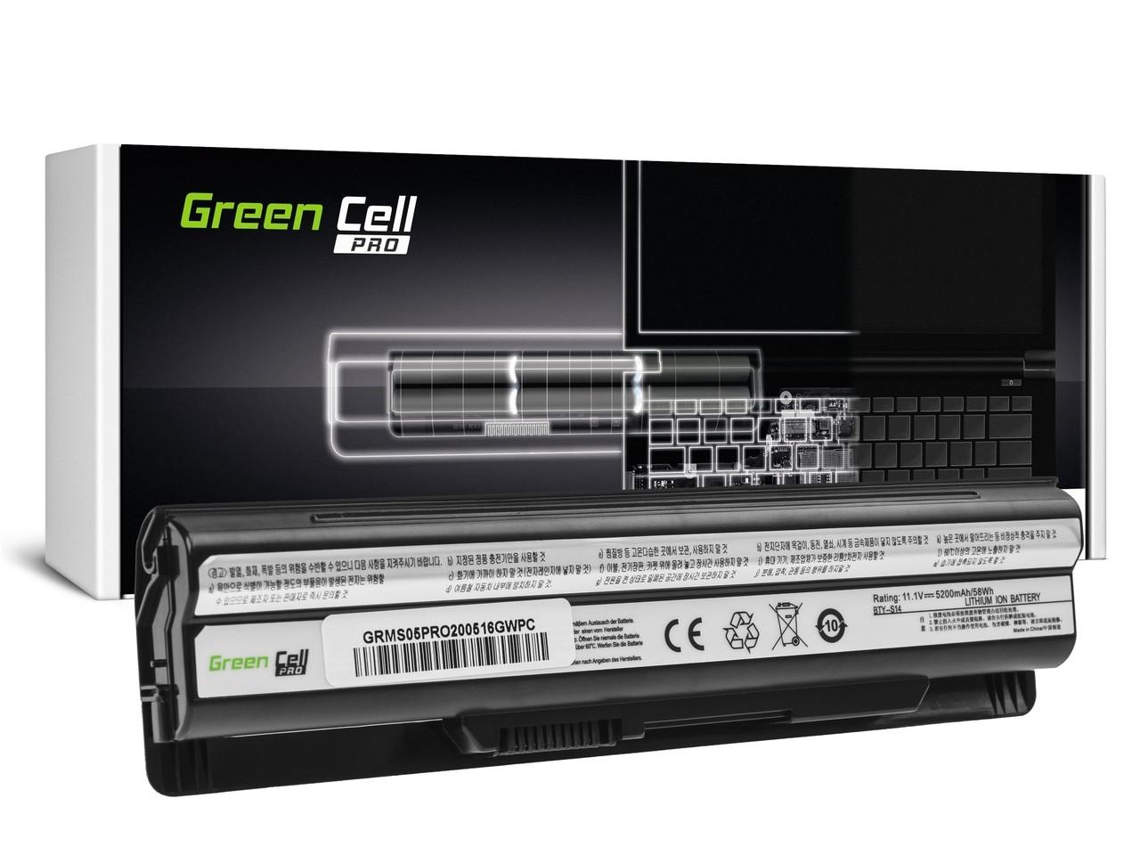 Bärbar dator Batteri PRO BTY-S14 BTY-S15 för MSI CR650 CX650 FX400 FX600 FX700 GE60 GE70 GP60 GP70 GE620