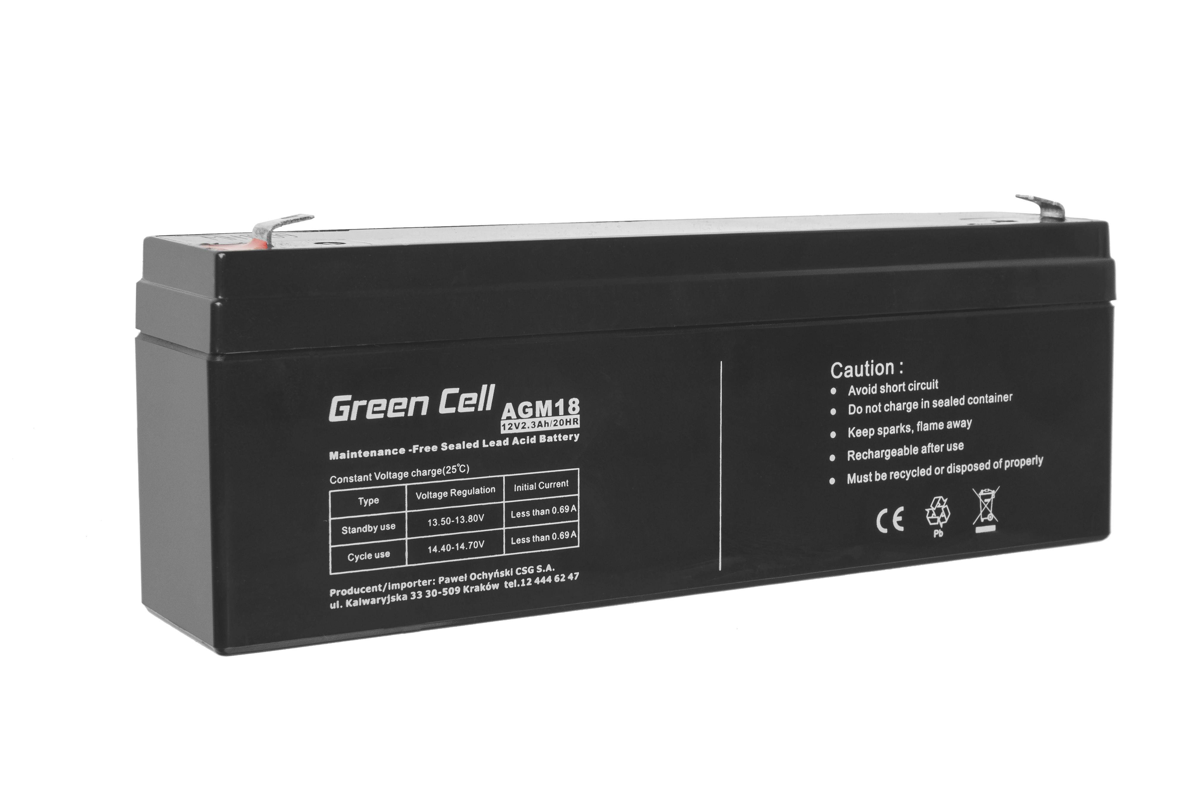 AGM Batteri 12V 1.3Ah