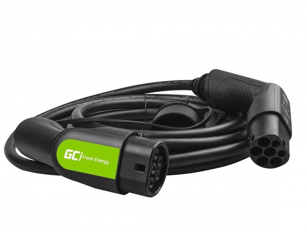 Kabel GC Typ 2 7.2kW 7m för laddning EV / PHEV