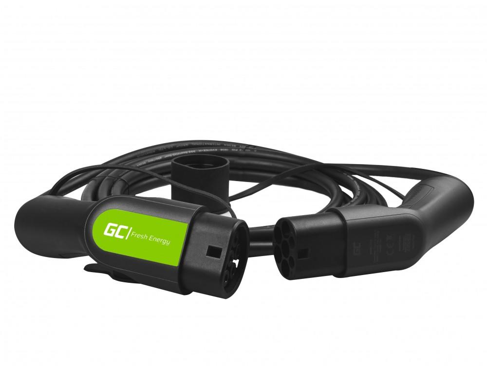 Kabel GC Typ 2 3.6kW 5m för laddning EV / PHEV