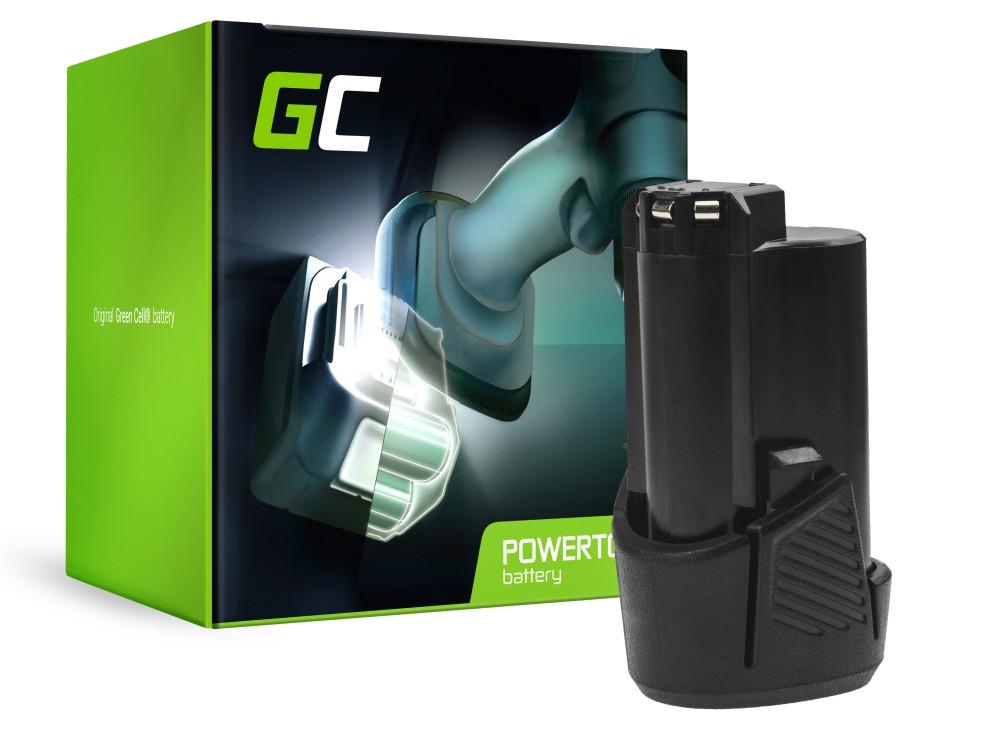 Grön CellBatteri (2,5Ah 12V) 5130200008 BSPL1213 B-1013L för Ryobi RCD12011L RMT12011L RRS12011L BB-1600 BHT-2600