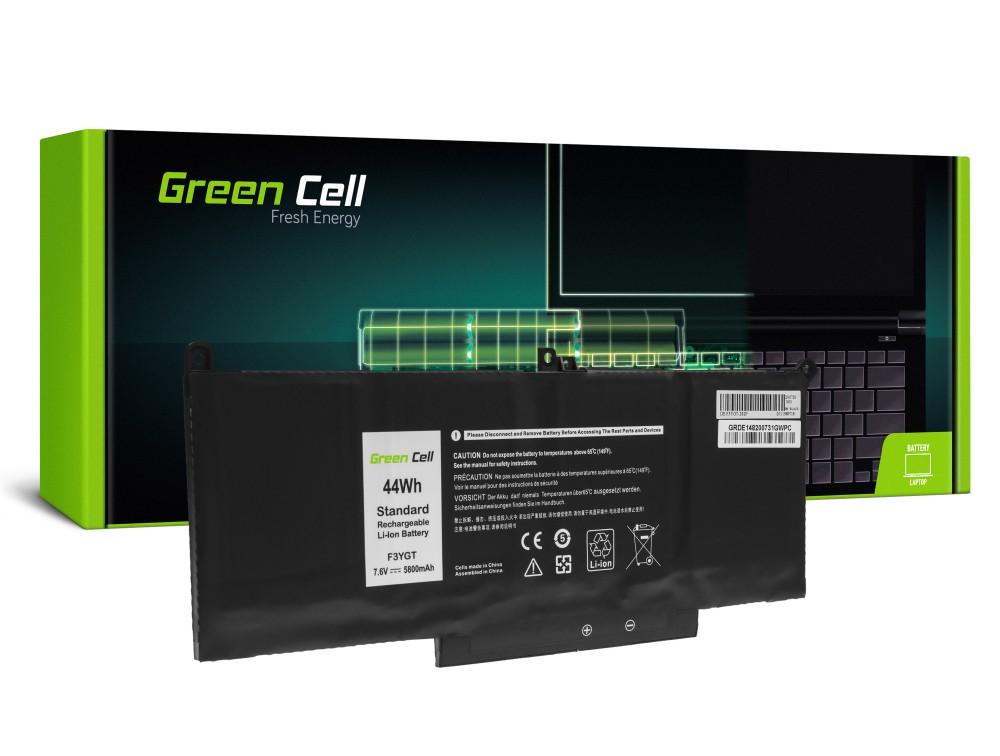 Batteri F3YGT för Dell Latitude 7280 7290 7380 7390 7480 7490