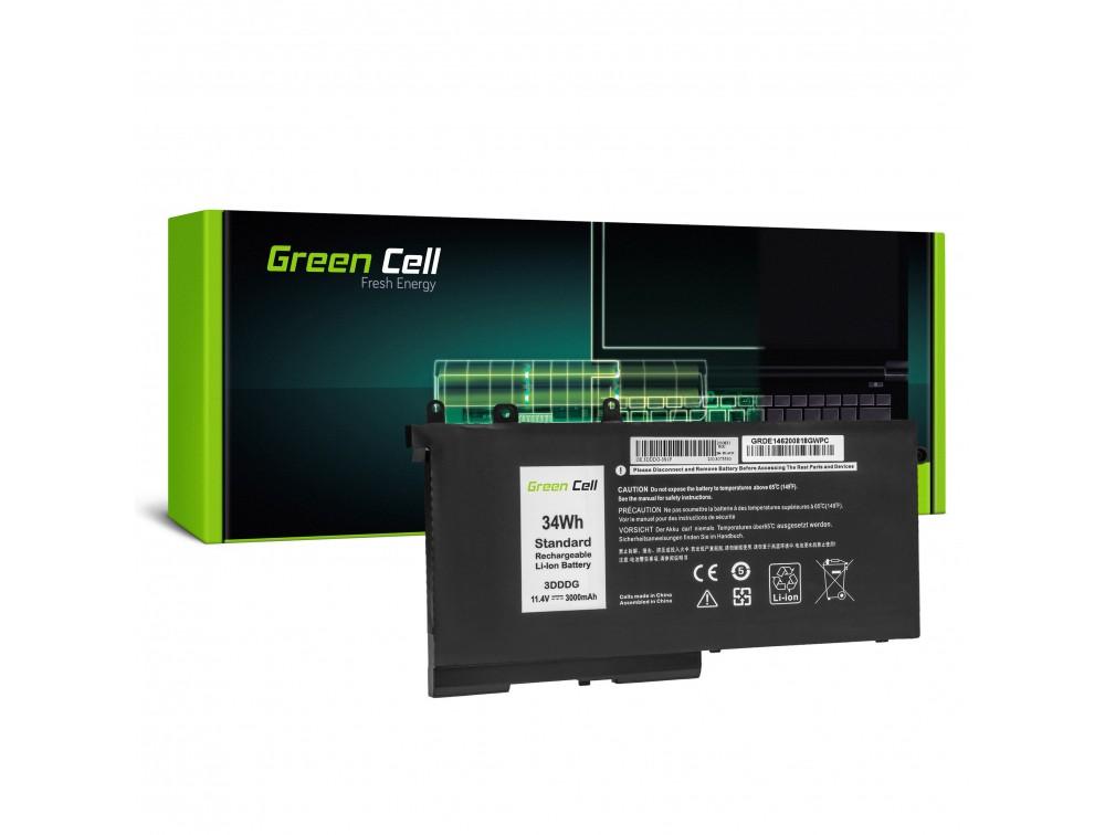 Batteri 3DDDG 93FTF för Dell Latitude 5280 5290 5480 5490 5495 5580 5590