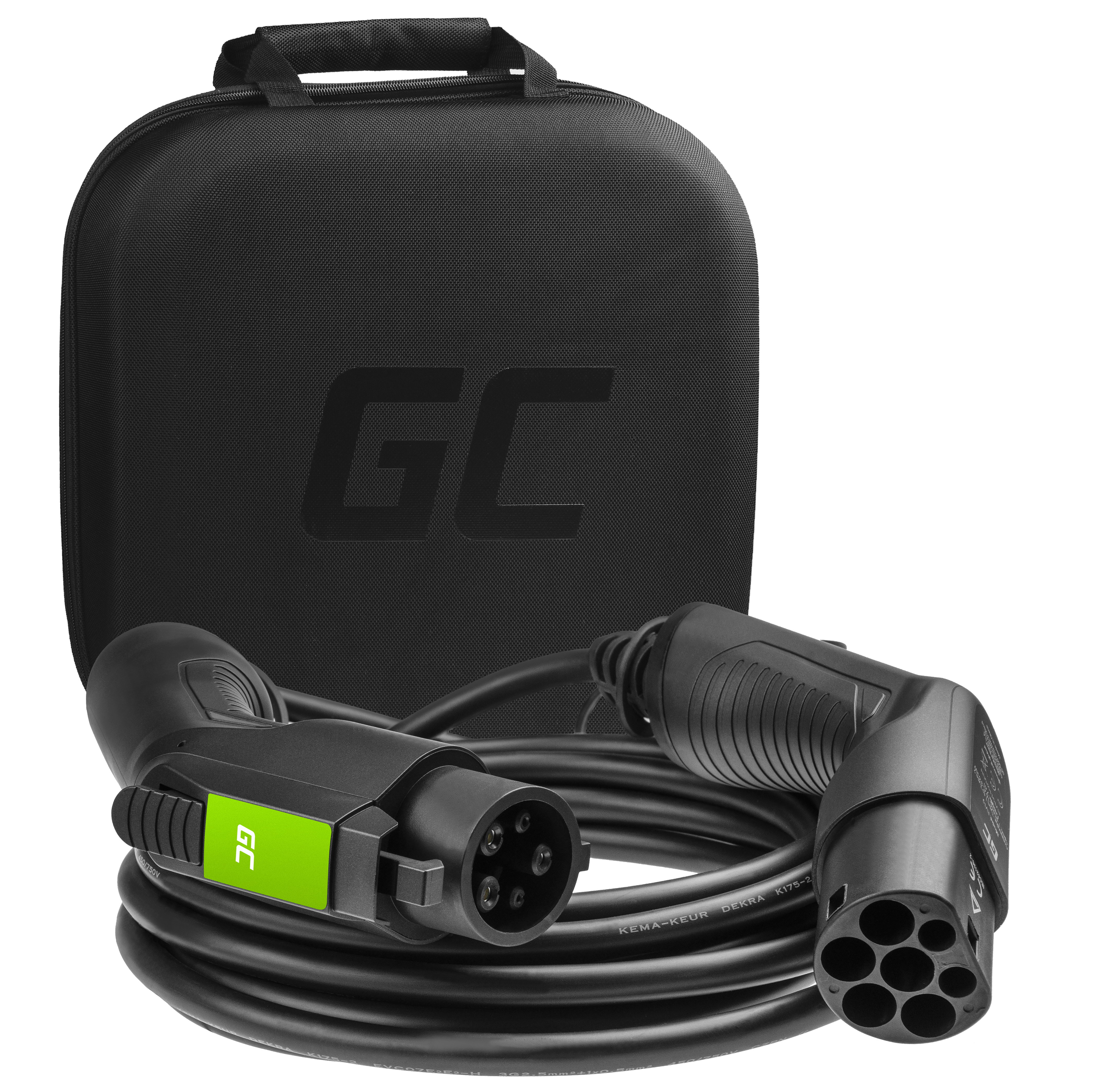 Kabel GC Typ 1 3.6kW 16A 7m för laddning EV