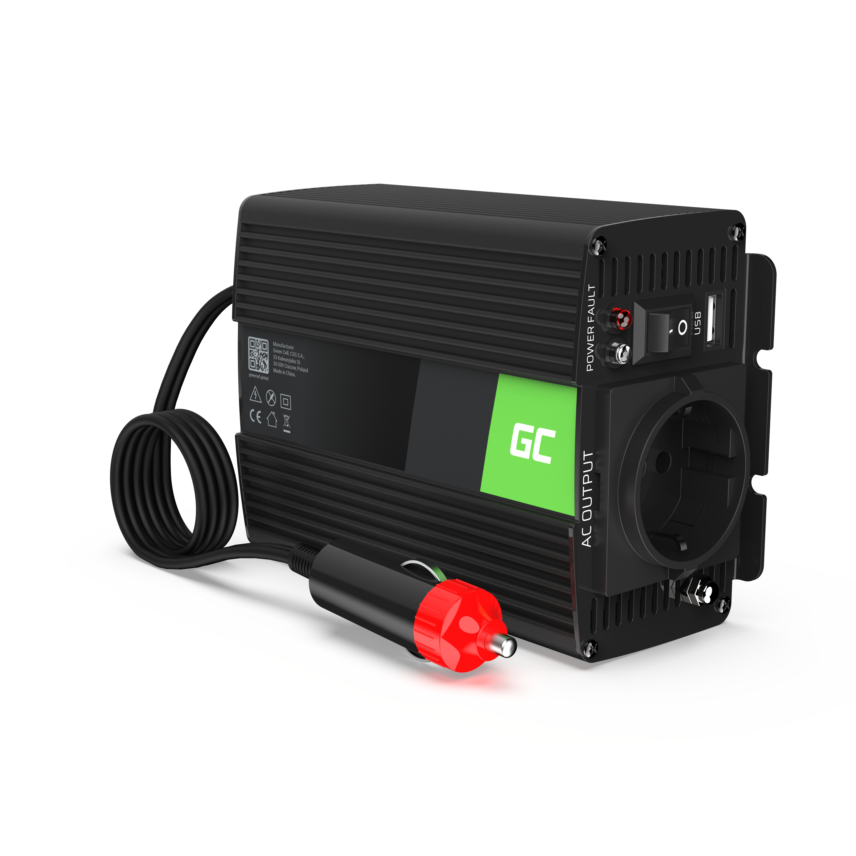 Auto Spannungswandler  12V do 230V, 300W/600W Volles Sinusoid