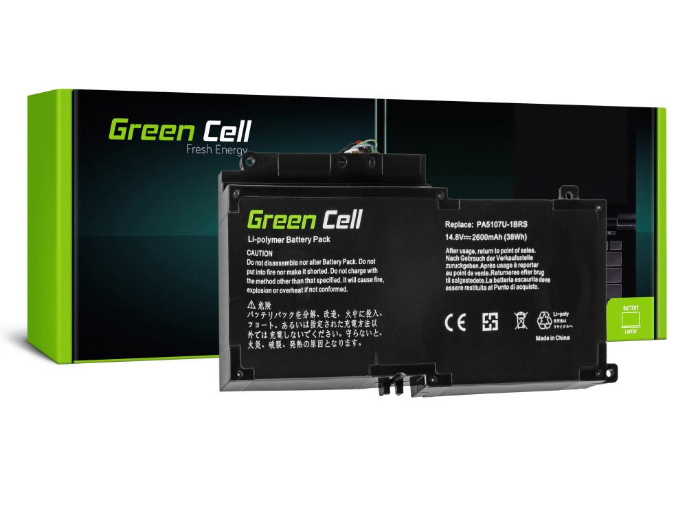 Battery for Toshiba Satellite L50-A L50-A-19N L50-A-1EK L50-A-1F8 L50D-A P50-A S50-A / 14,4V 2600mAh