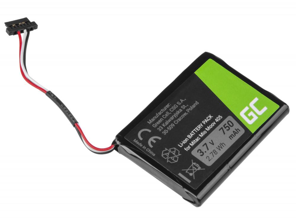 Battery  for GPS Moov 500 510 560 580 N210, Li-Ion 750mAh 3.7V