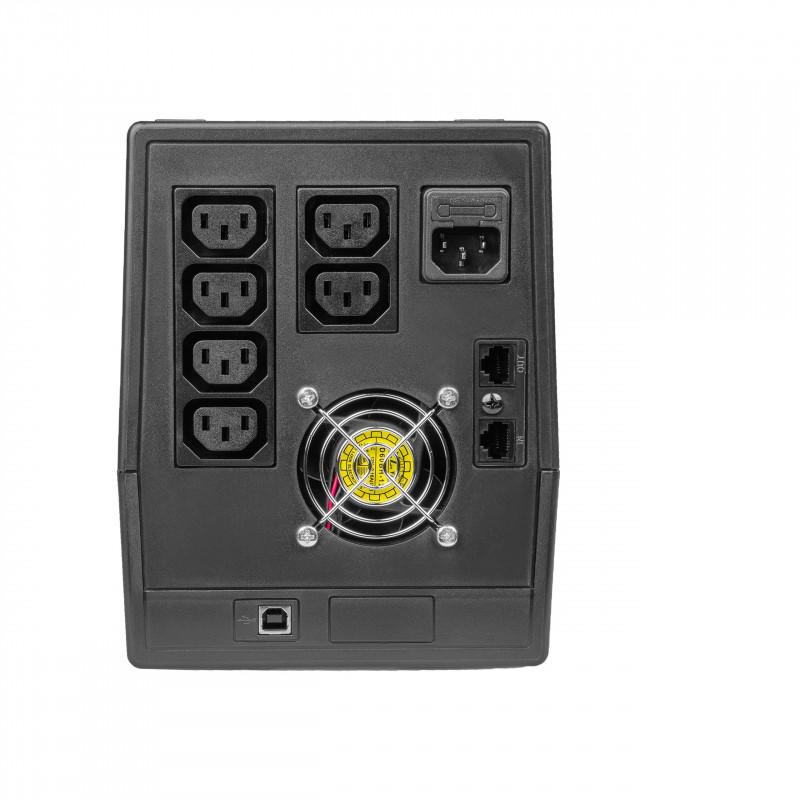 UPS Uninterruptible Power Supply 2000VA 1200W with LCD Display