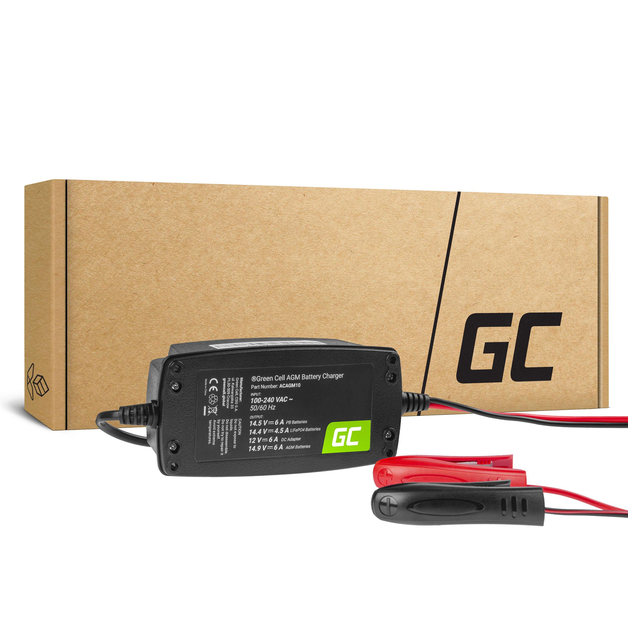 Ładowarka, prostownik do akumulatorów 12V (6A)
