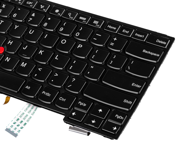 Green Cell Bakgrundsbelyst tangentbord för Lenovo ThinkPad S3 Yoga 14