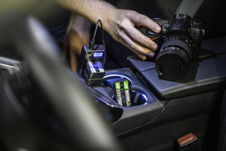 Green Cell batteriladdare AHBBP-301 för GoPro HD Hero 3, GoPro HD Hero 3 +