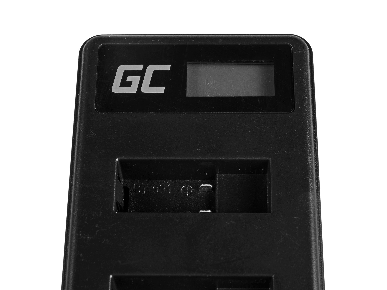 Green Cell batteriladdare AHBBP-501 för GoPro AHDBT-501, HD Hero5, HD Hero6