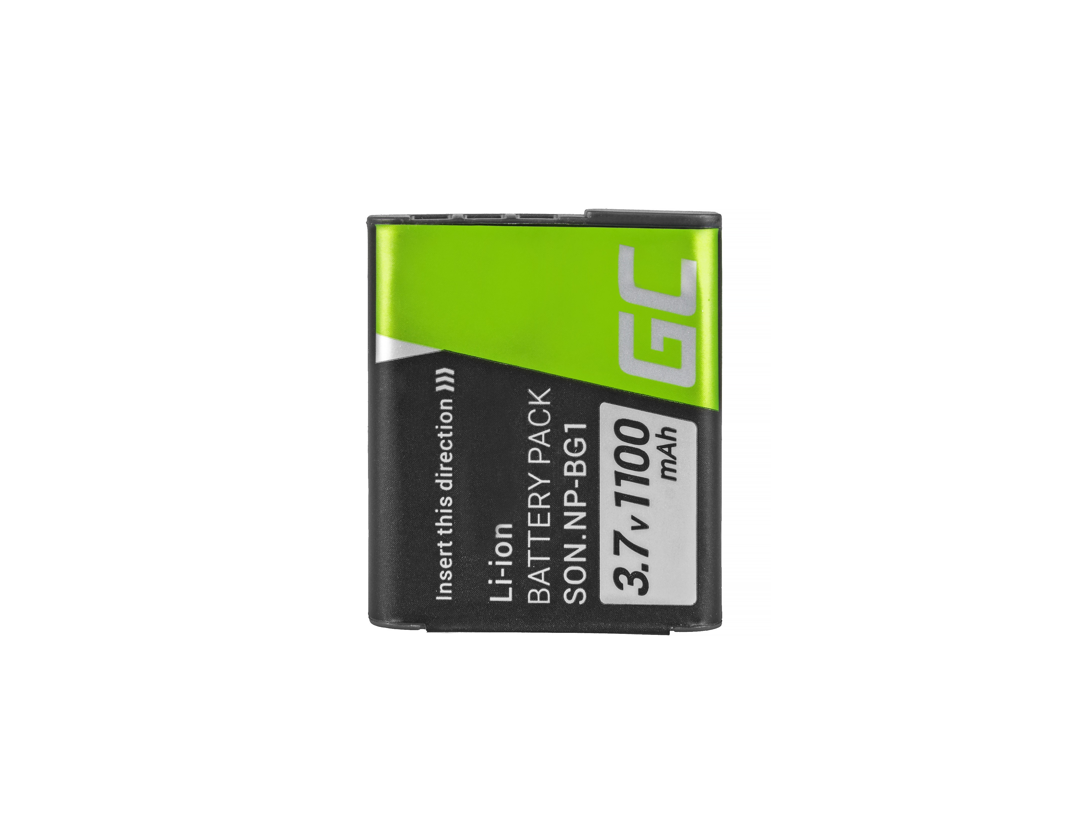 Battery NP-BG1/NP-FG1 and Charger BC-CSG  for Sony DSC H10, H20, H50, HX5, HX10, T50, W50, W70 3.7V 1100mAh