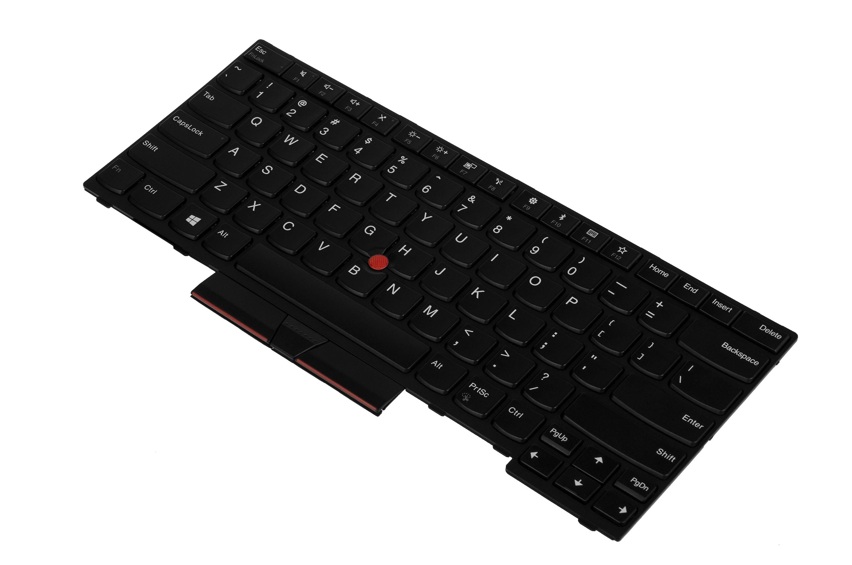 Green Cell Laptop Tangentbord för Lenovo ThinkPad L380 Yoga E480 L480 T480S