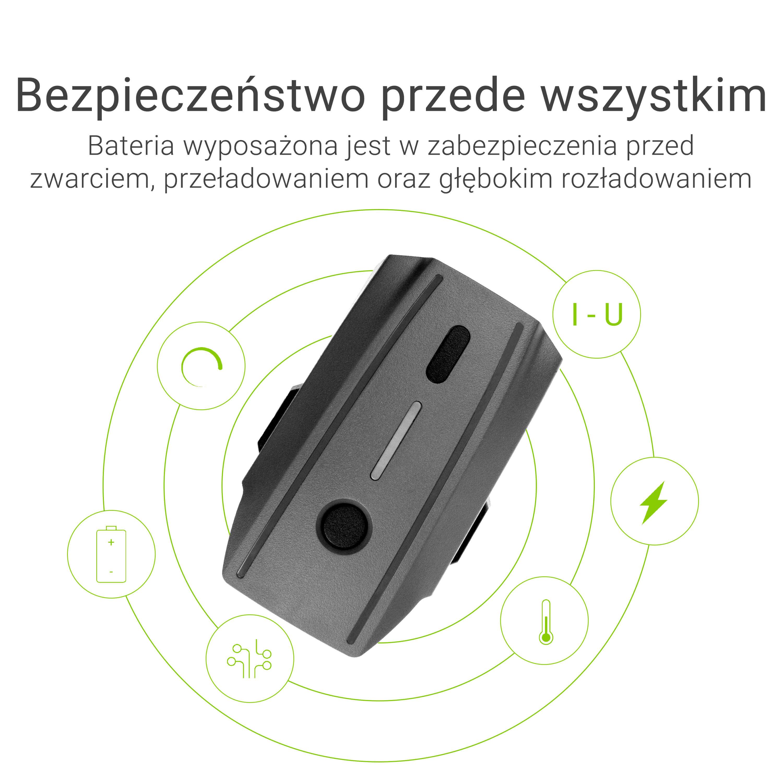 Green Cell Drone Batteri för DJI Mavic Pro 11.4V 3830mAh 43.6Wh