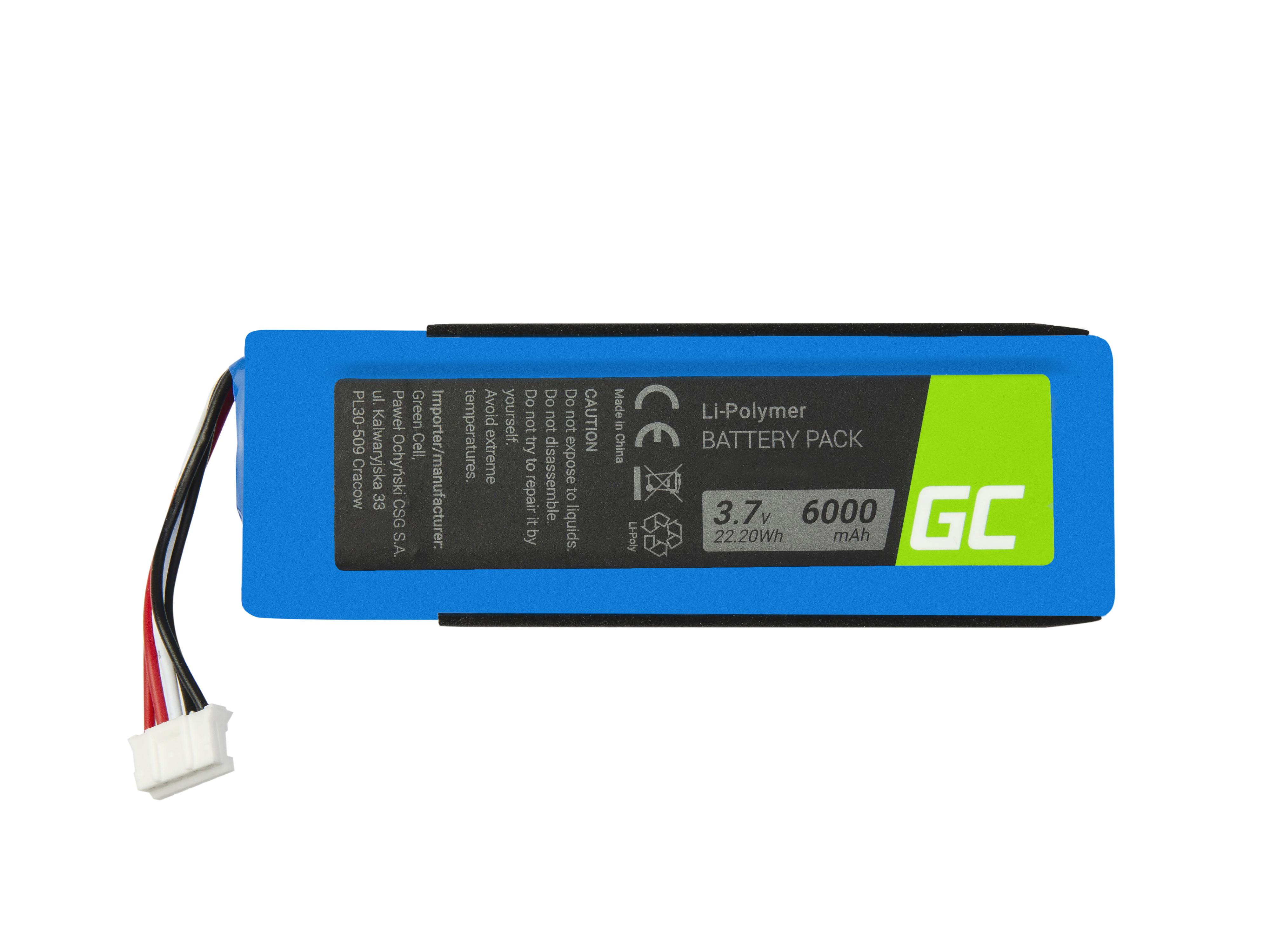 Batterihögtalare GSP1029102 för JBL-laddning 2+, Laddning 2 Plus