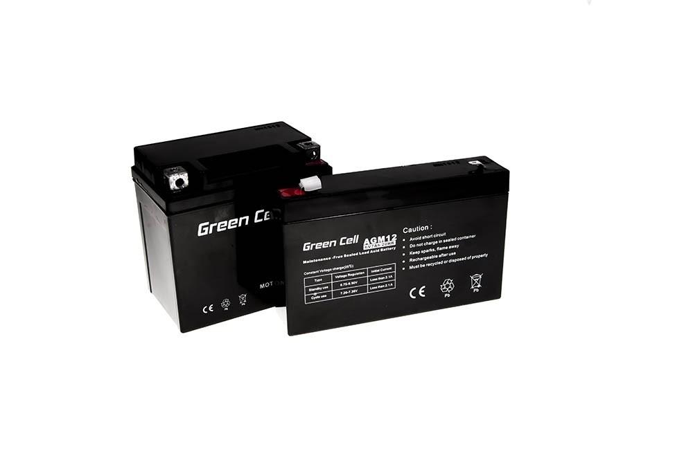 Green Cell AGM Batteri 6V 7Ah