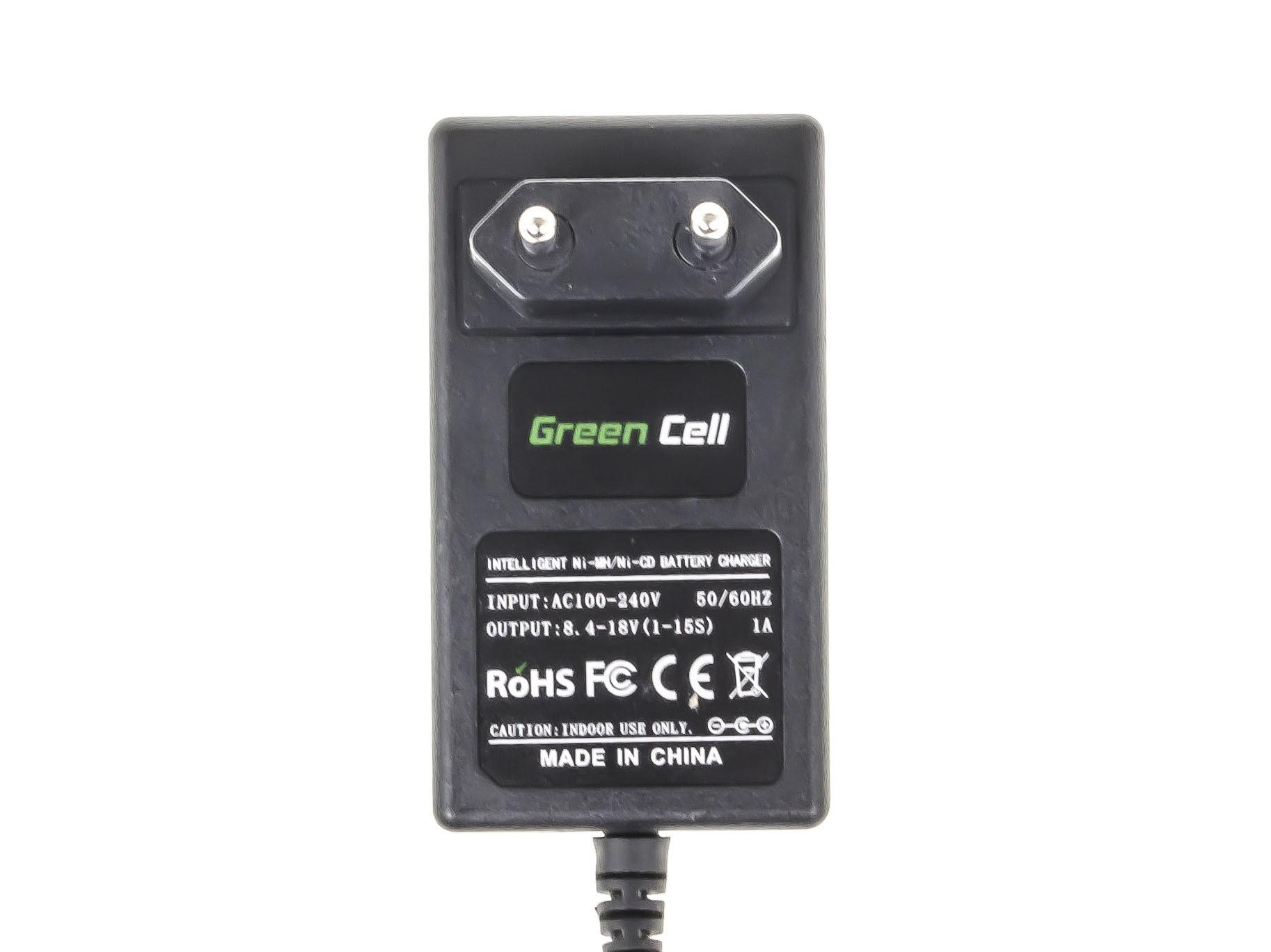 Green Cell Batteriladdare för power tool för Hitachi 8.4V -18V Ni-MH Ni-Cd