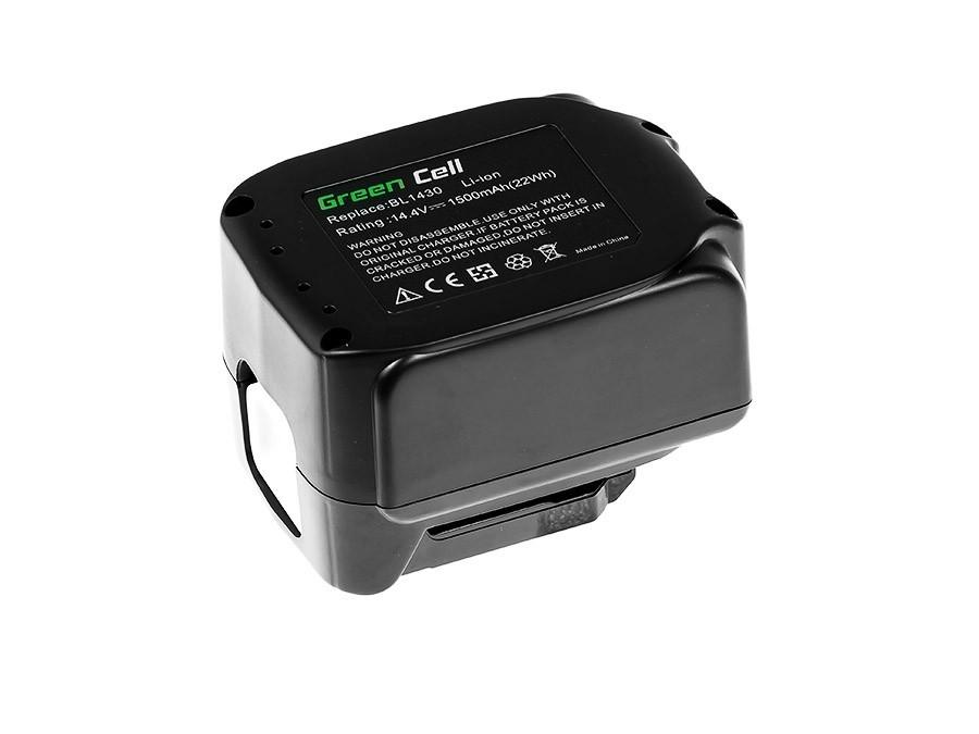 Batteri bl1415 BL1430 BL1440 för Makita 14.4V 1500mAh