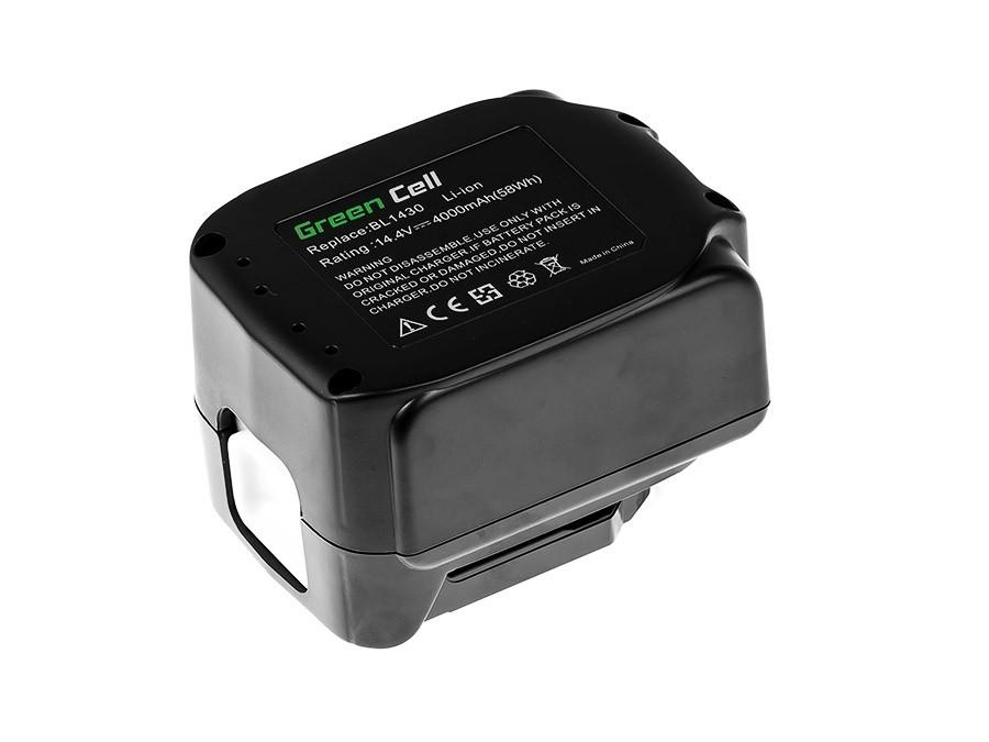 Batteri bl1415 BL1430 BL1440 för Makita 14.4V 4000mAh