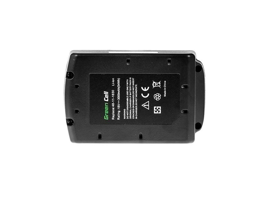 Batteri med elverktyg 48-11-1830 för Milwaukee C18 M18 18V 3000mAh