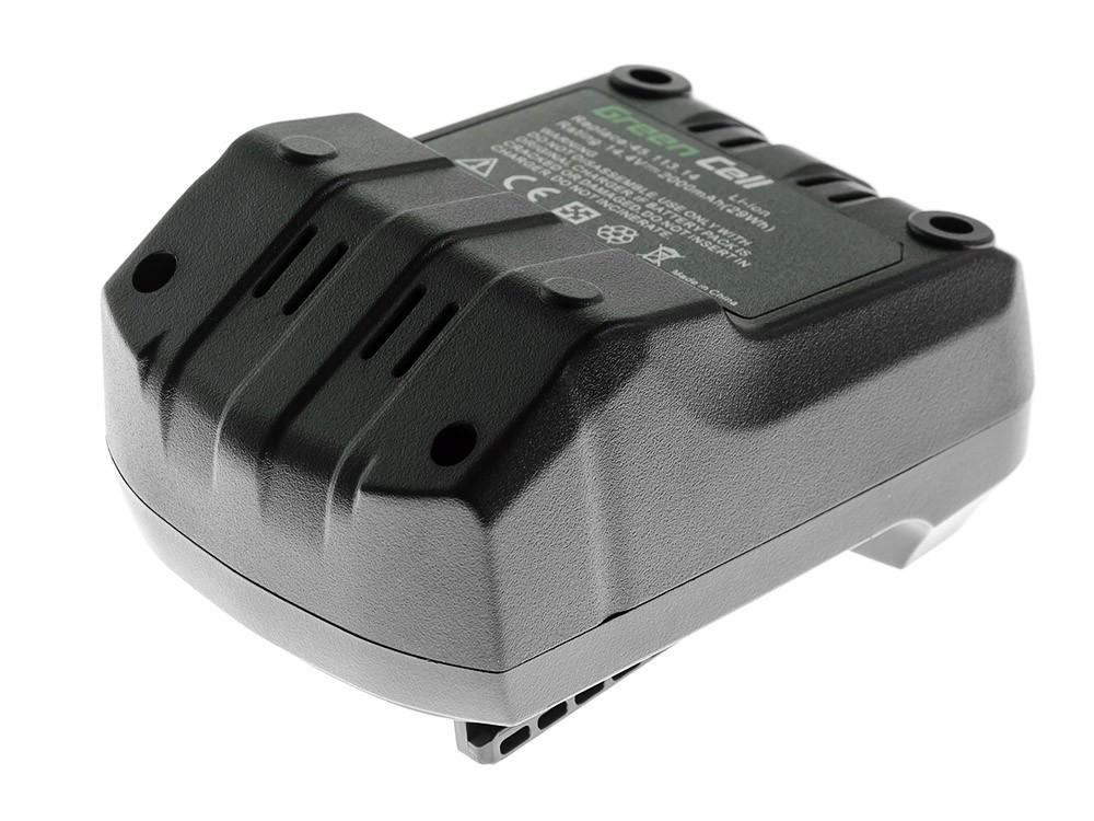 Green Cell elverktygsbatteri för Einhell RT-CD 14,4/1 2 Ah 14,4 V