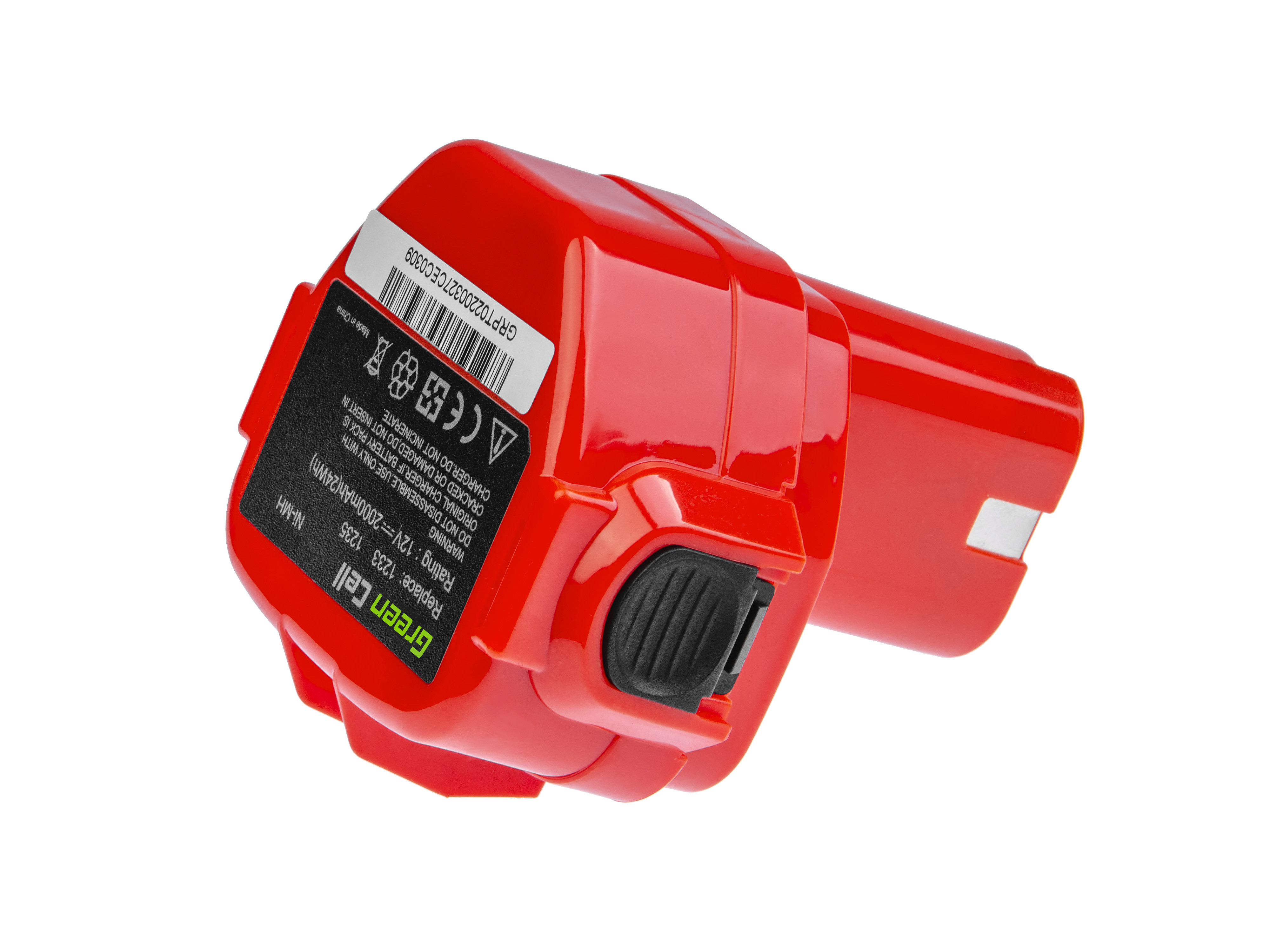 Batteri av elverktyg 1220 1222 för Makita 1050D 4191D 6271D 6835D 8413D
