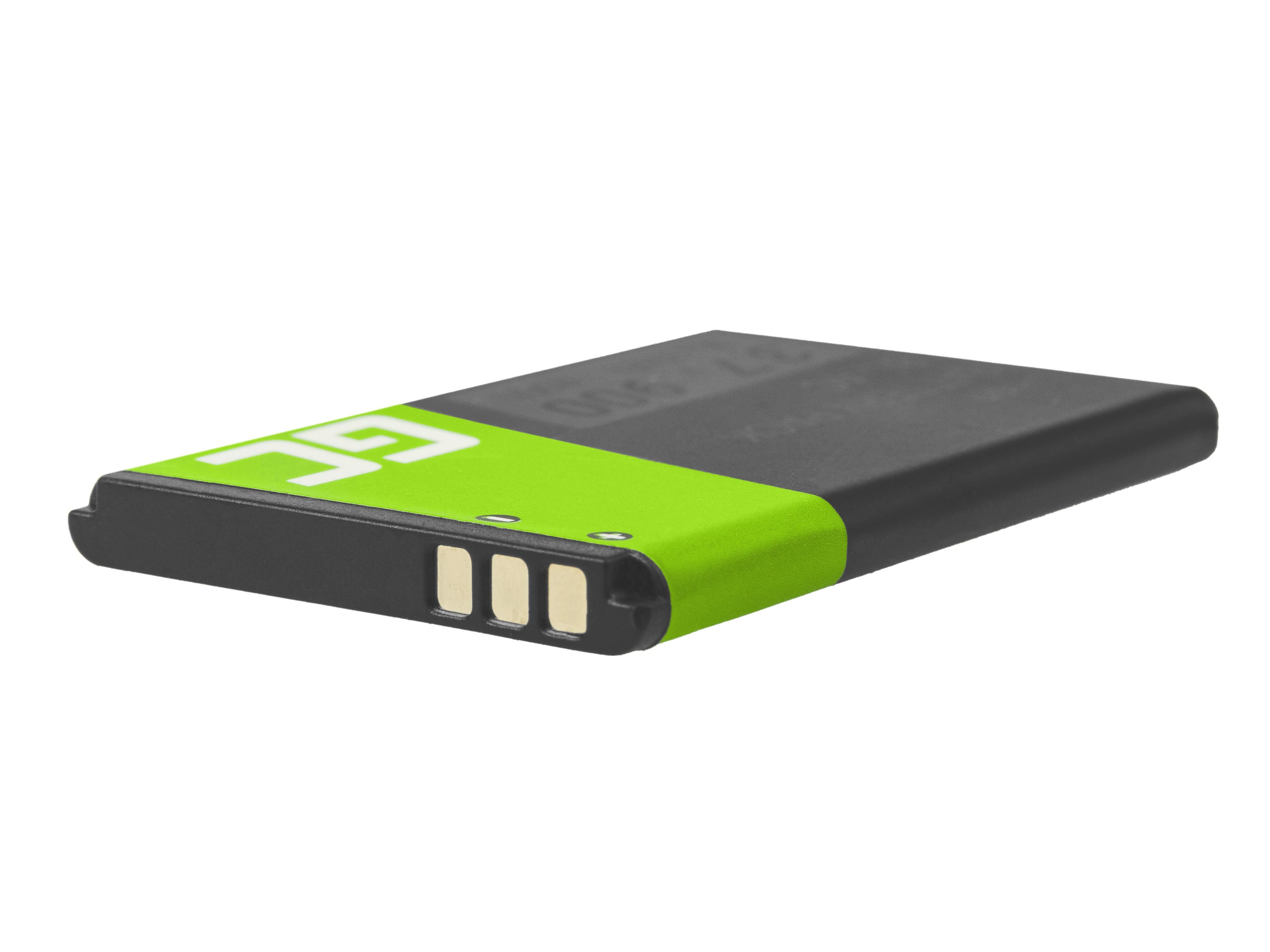 Grönt mobiltelefonbatteri BL-4C för Nokia 5100 6100 6103 6300 7200