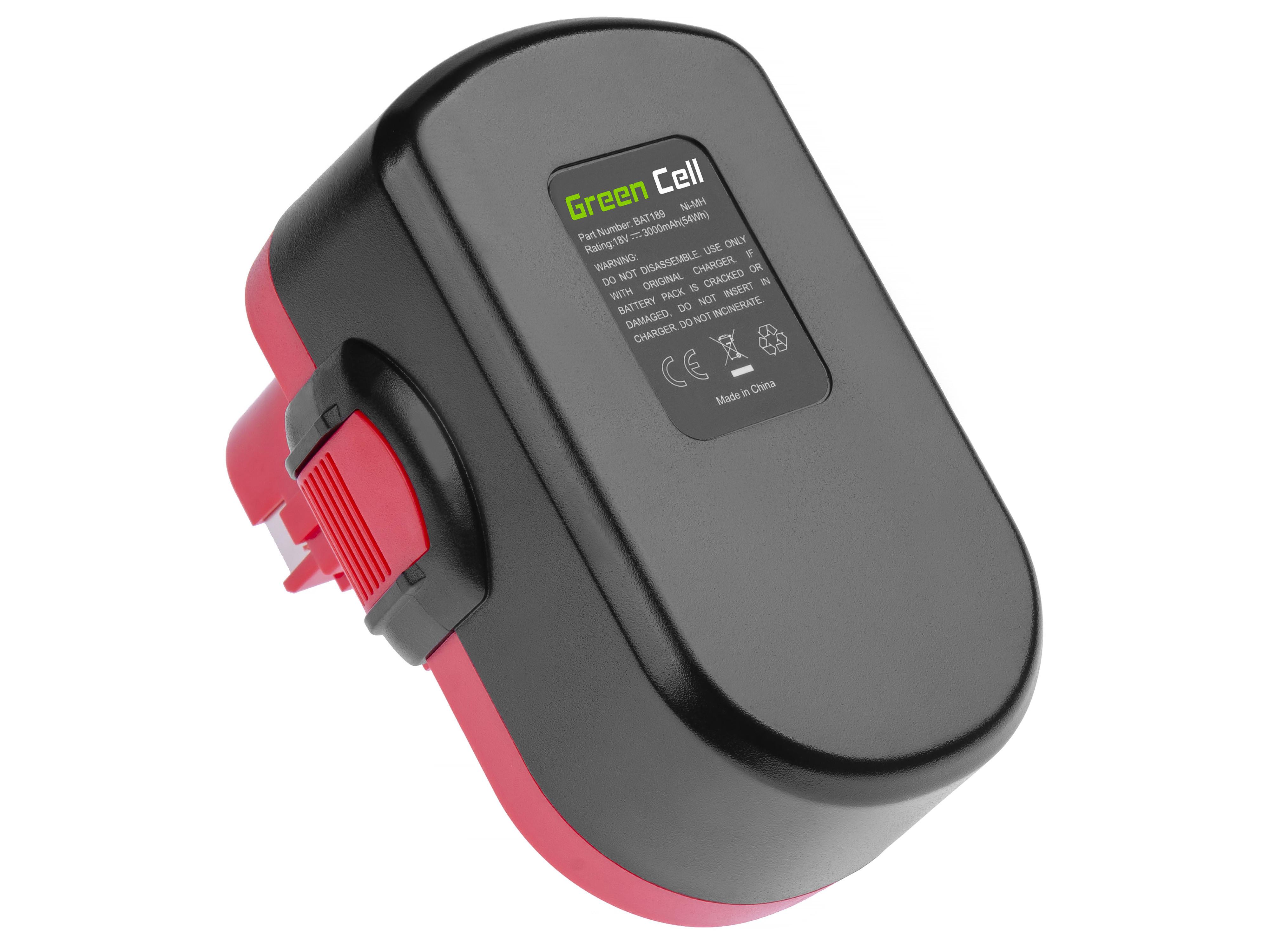 Batteri för elverktyg för Bosch PSR 18VE-2 GSB 18VSE-2 GSR18V 18V
