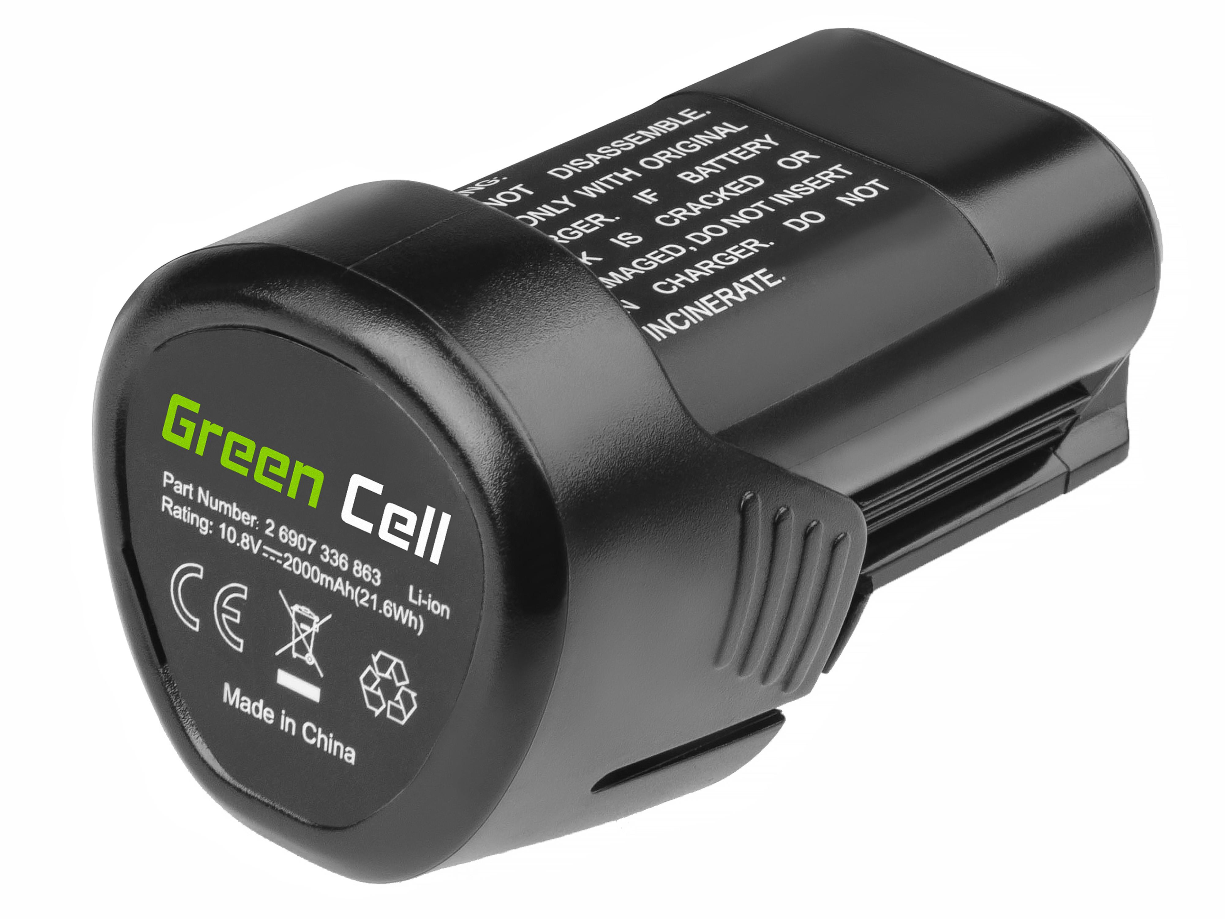Batteri för elverktyg för Bosch GLI 10.8V-LI GSR 10.8V-LI