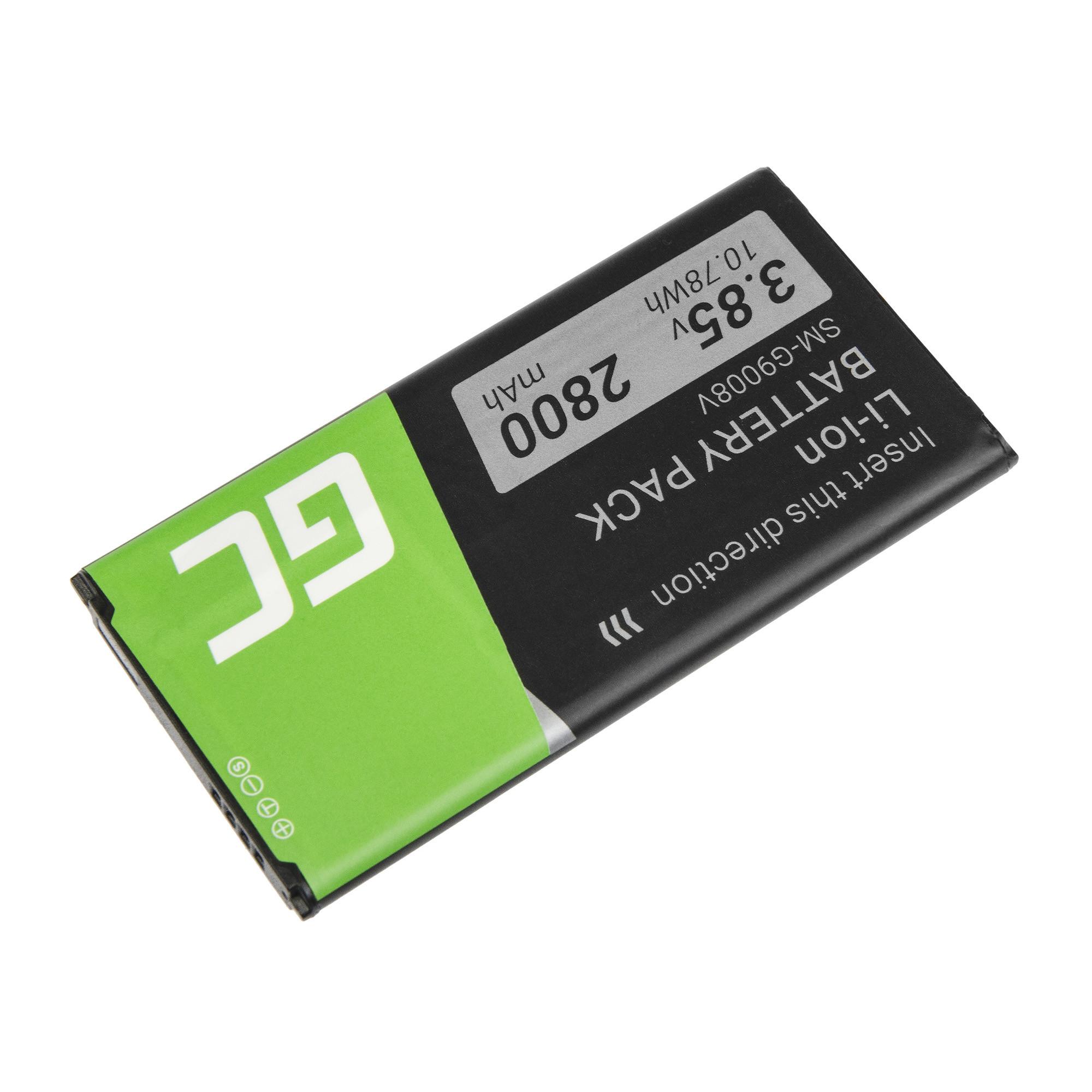 Batterier Green Cell EB-BG900BBC für das Telefon Samsung Galaxy S5