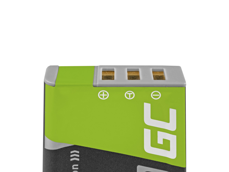 Green Cell batteri NP-95 Fujifilm Finepix X30 X70 X-S1 X100s X100 X100T F30 F31 3.7V 1500mAh