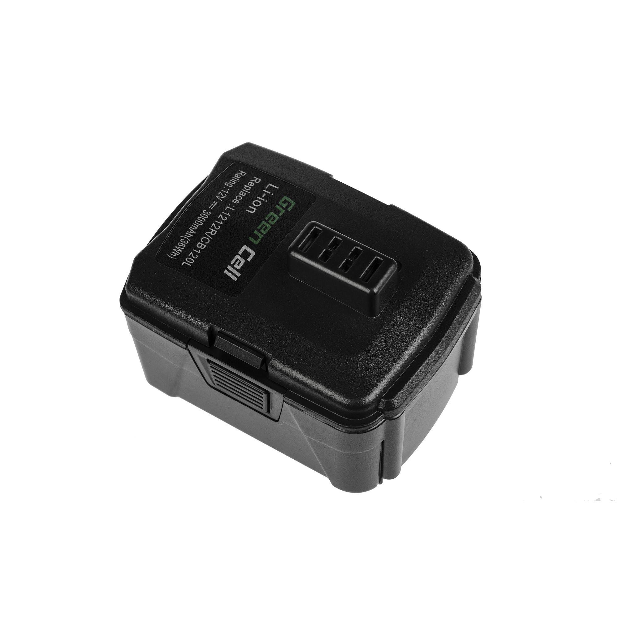 Green Cellverktygsbatteri CB120L BPL-1220 RB12L13 för Ryobi BID1201 CD100 CR1201 HJP001 HJP002 HJP003 HJP004