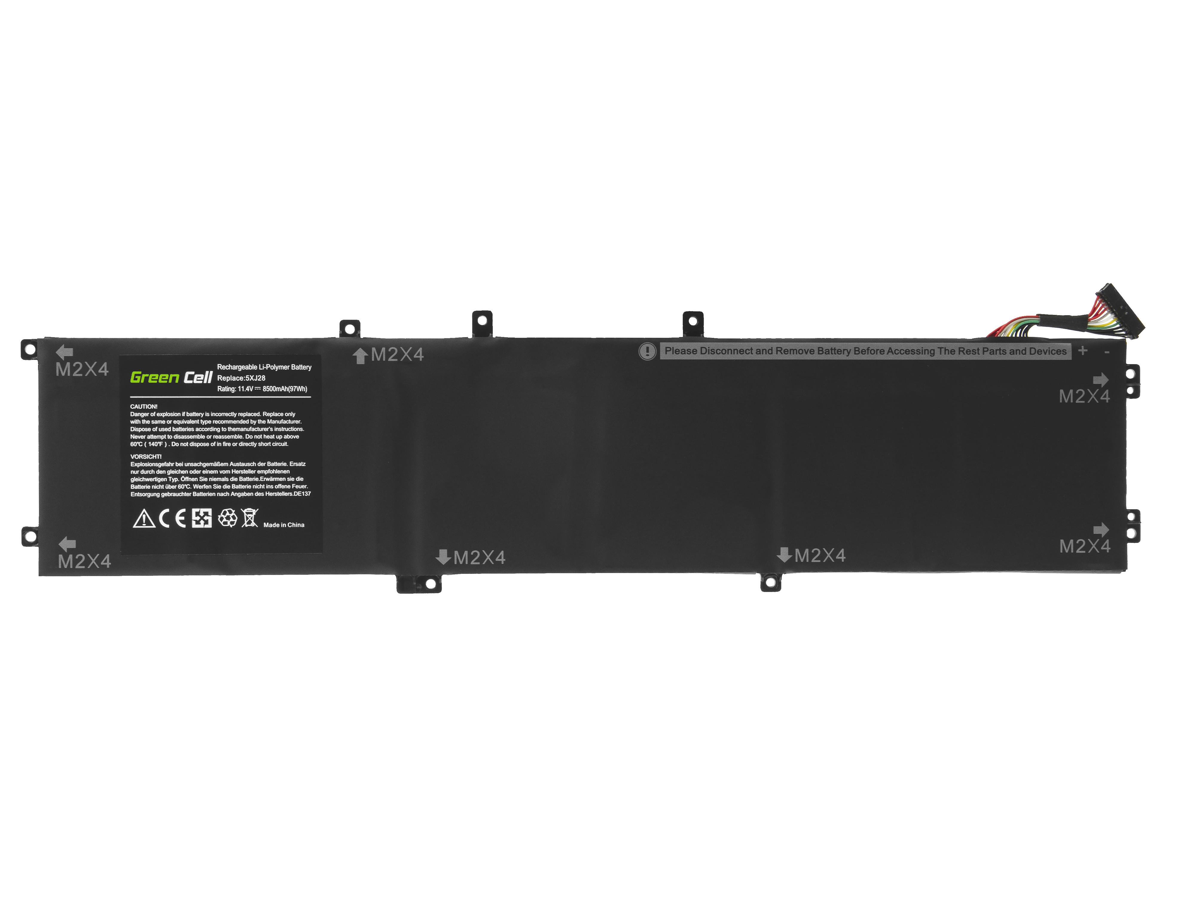 Batteri 6GTPY 5XJ28 för Dell XPS 15 7590 9560 9570, Dell Precision 15 5520 5530