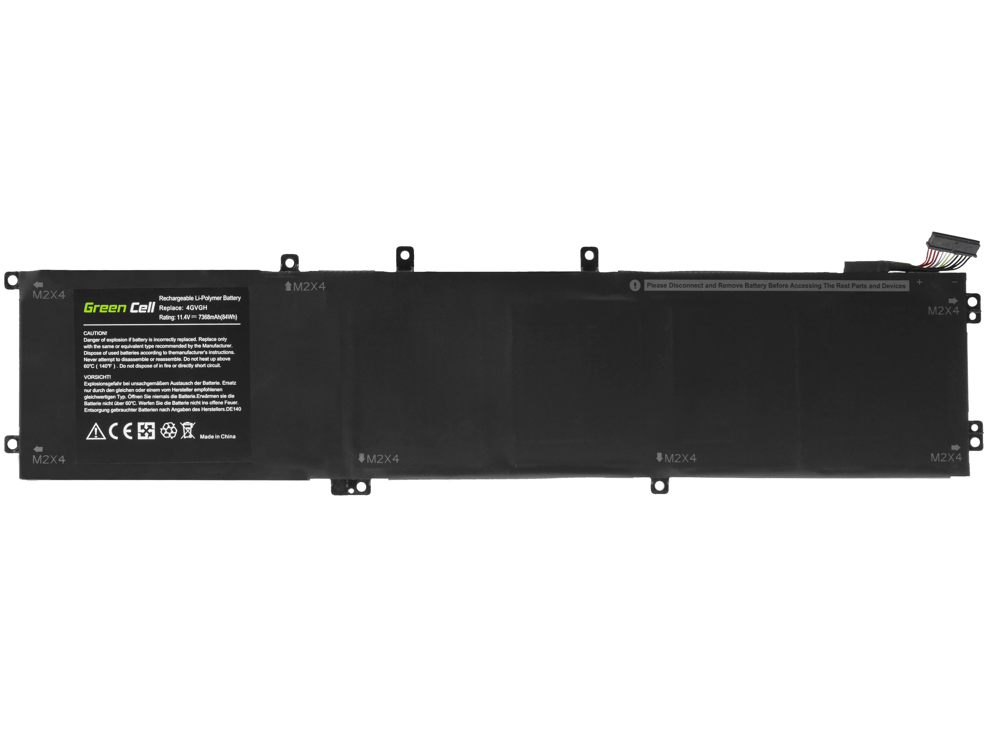 Batteri 4GVGH för Dell XPS 15 9550, Dell Precision 5510