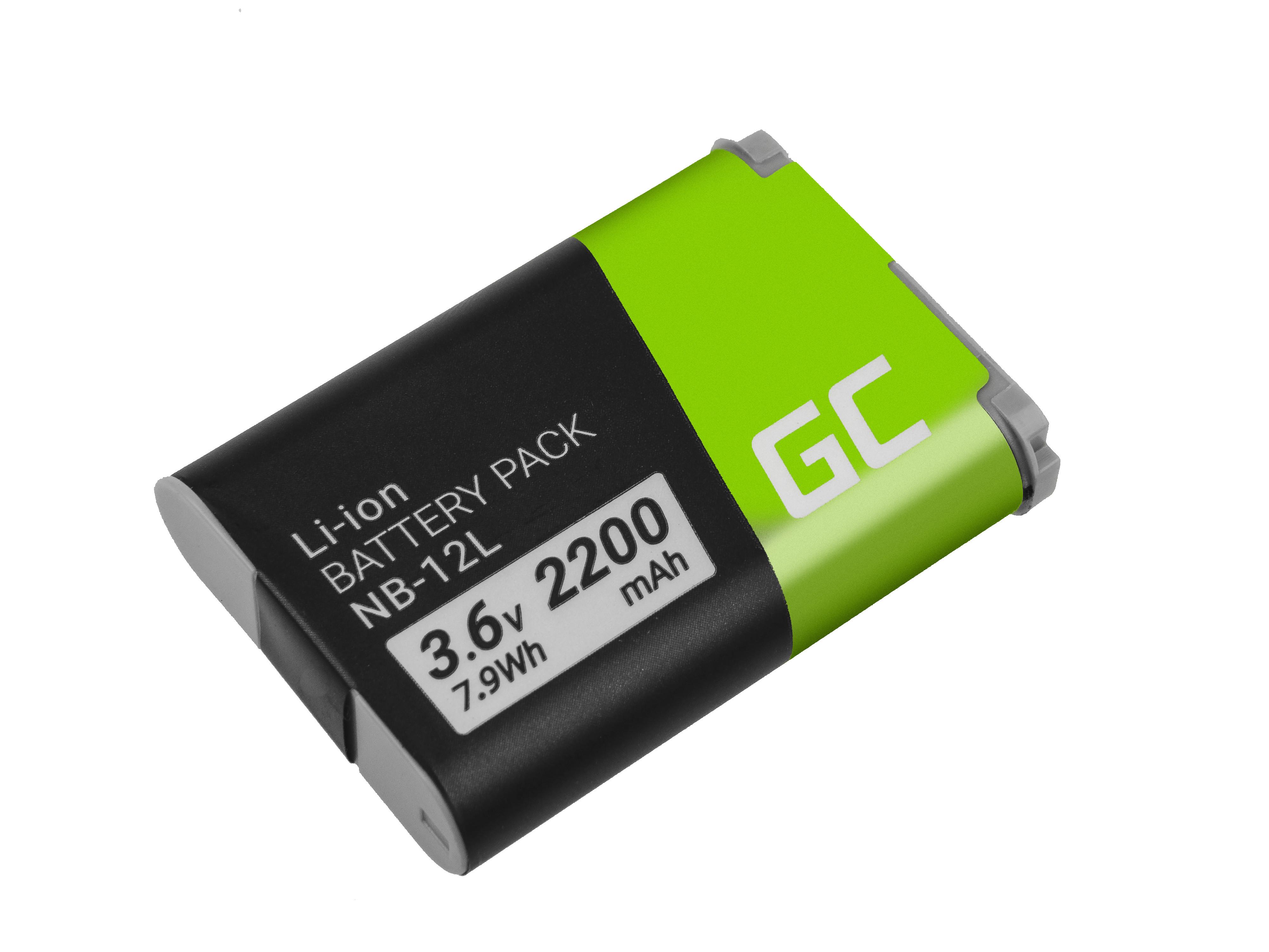 Batteri NB-12L NB12L do Canon Powershot G1 X Mark II, N100, LEGRIA mini X 3.6V 2200mAh