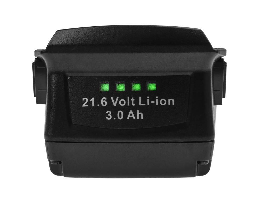 Batteri (3Ah 21.6V) B18 B22 för Hilti SCW SCM SF SFC SFH SID SIH 22-A