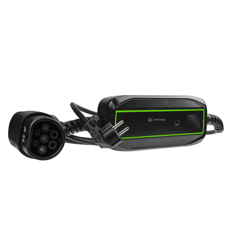 GC EV PowerCable 3.6kW Schuko - Typ 2 mobil laddare för laddning av elbilar och Plug-In hybrider